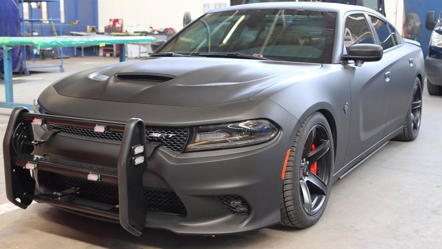 Police Can Now Buy An Armored Awd Dodge Charger Srt