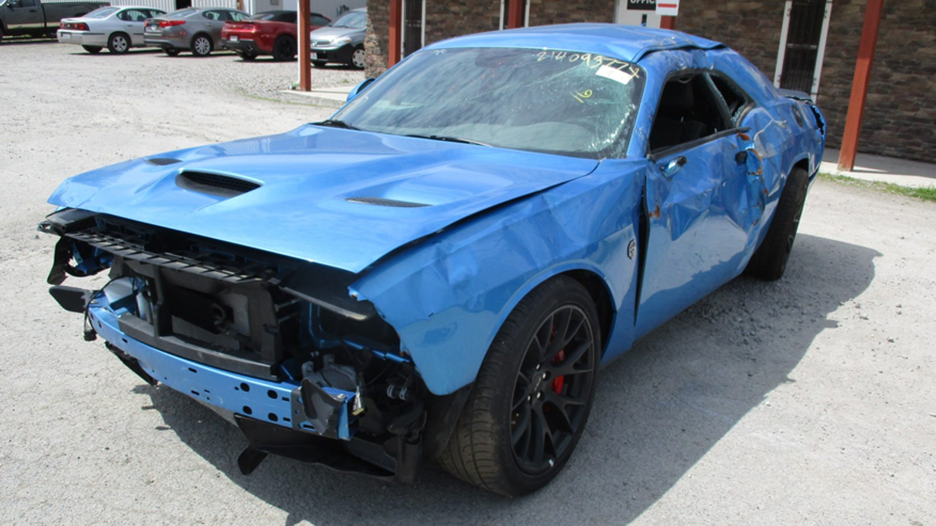 Cleveland Power And Performance >> Dodge Challenger Srt Hellcat Wrecked After Just 18 Miles Fox News