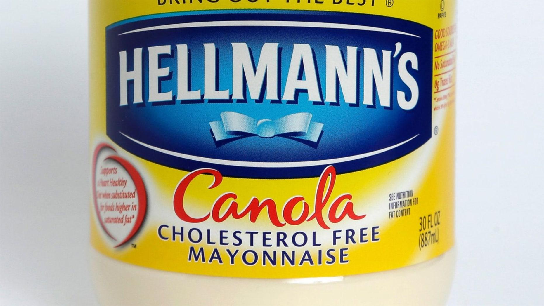 """Hellmann's announces """"Canola Cholesterol Free Mayonnaise."""""""