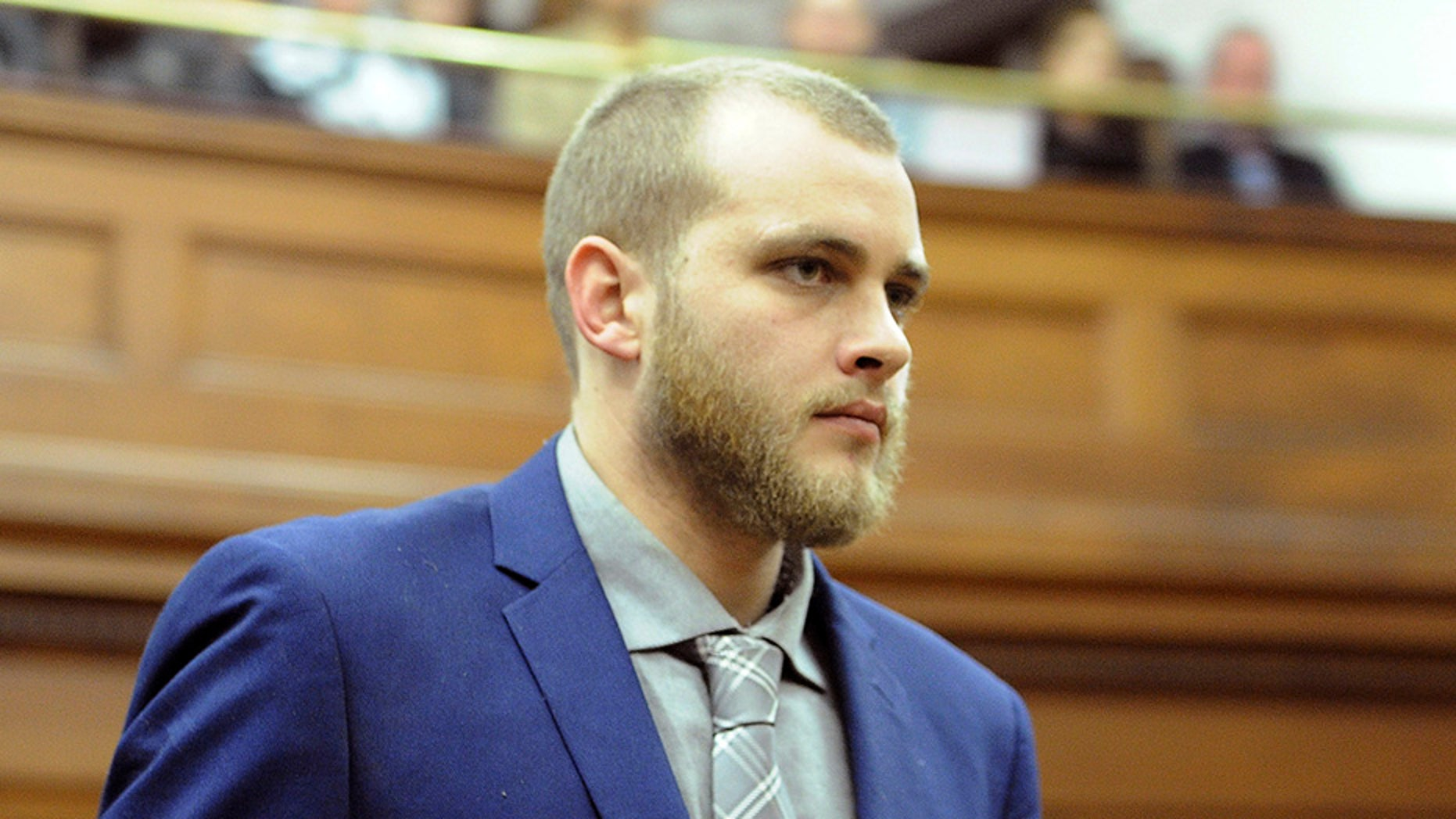 May 21, 2018: Henri van Breda arrives in the High Court in Cape Town, South Africa.