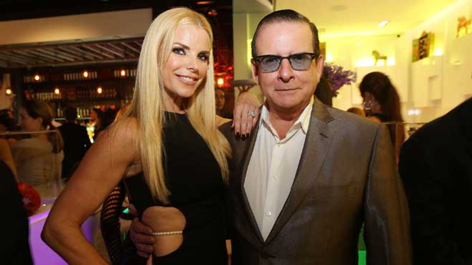 MIAMI, FL - OCTOBER 24: Alexia Echevarria and Herman Echevarria attend Private Opening Reception for CVI.CHE 105 South Beach on October 24, 2014 in Miami, Florida. (Photo by Aaron Davidson/Getty Images for CVI.CHE 105)