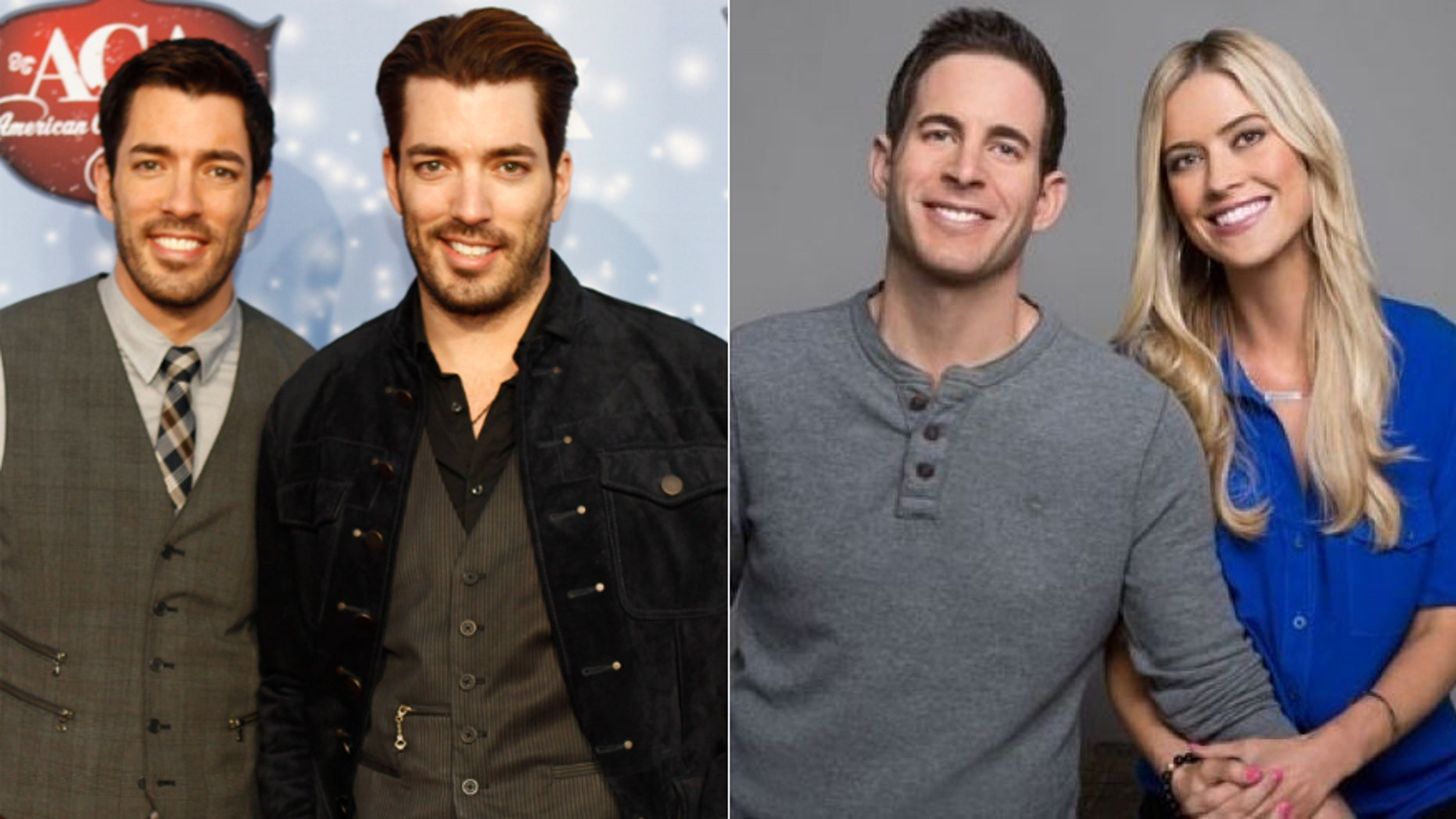 "The ""Property Brothers"" and the stars of ""Flip or Flop."""