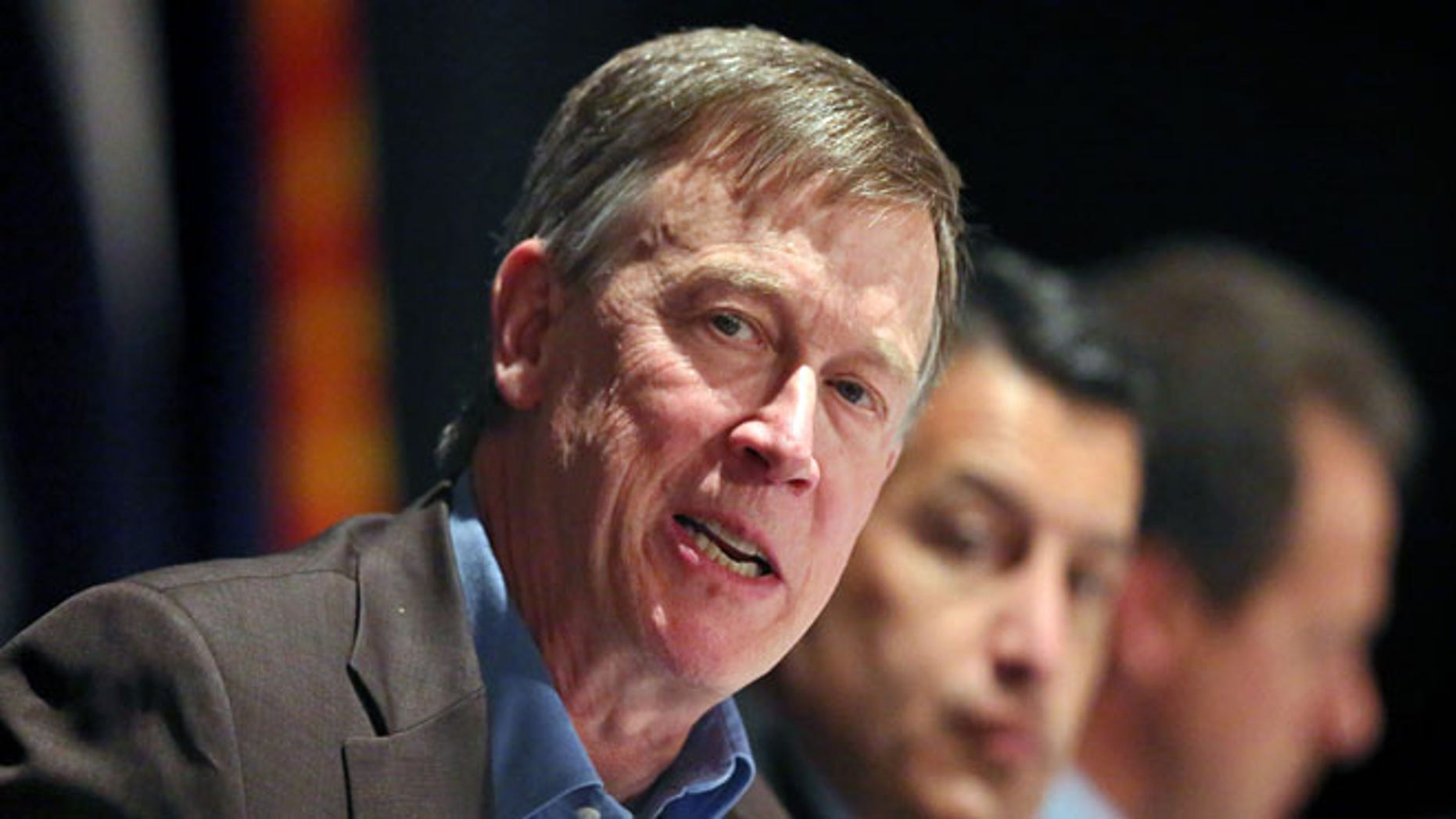 June 10, 2014: Colorado Gov. John Hickenlooper.
