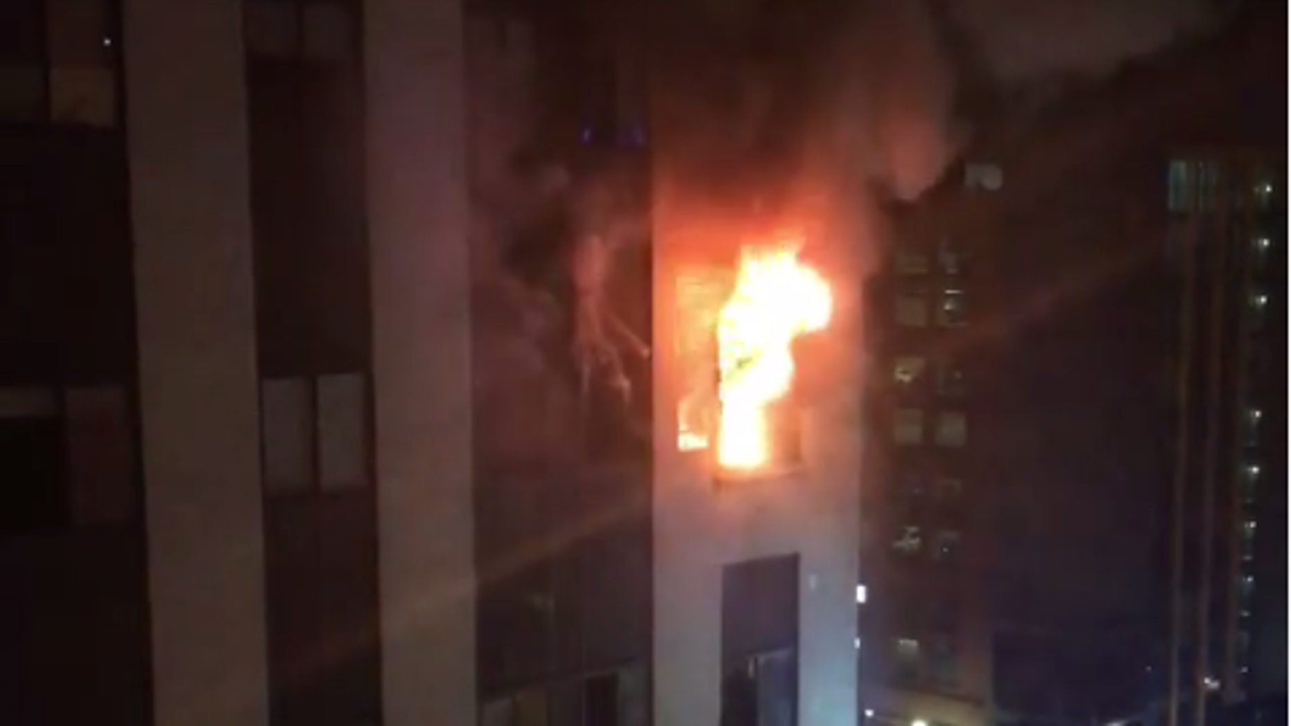 The Pittsburgh high-rise apartment fire killed at least one woman.