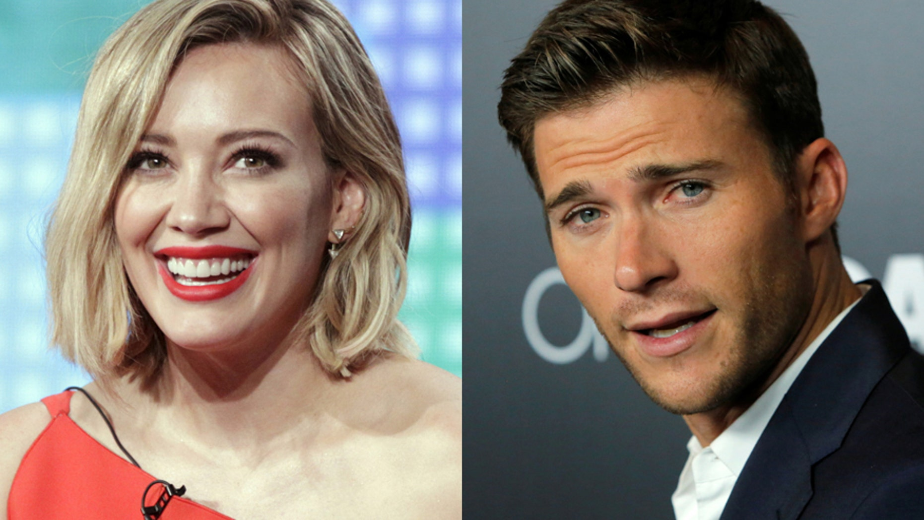 Hilary Duff (left) and Scott Eastwood.
