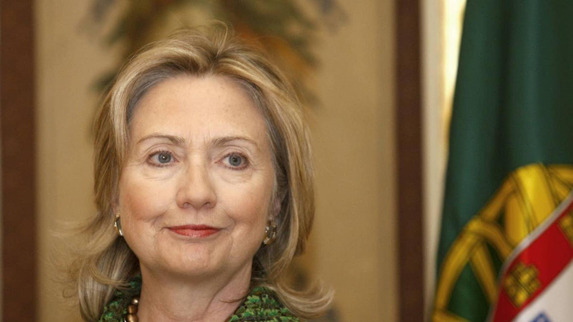 Secretary of State Hillary Clinton (AP Photo/ Francisco Seco)