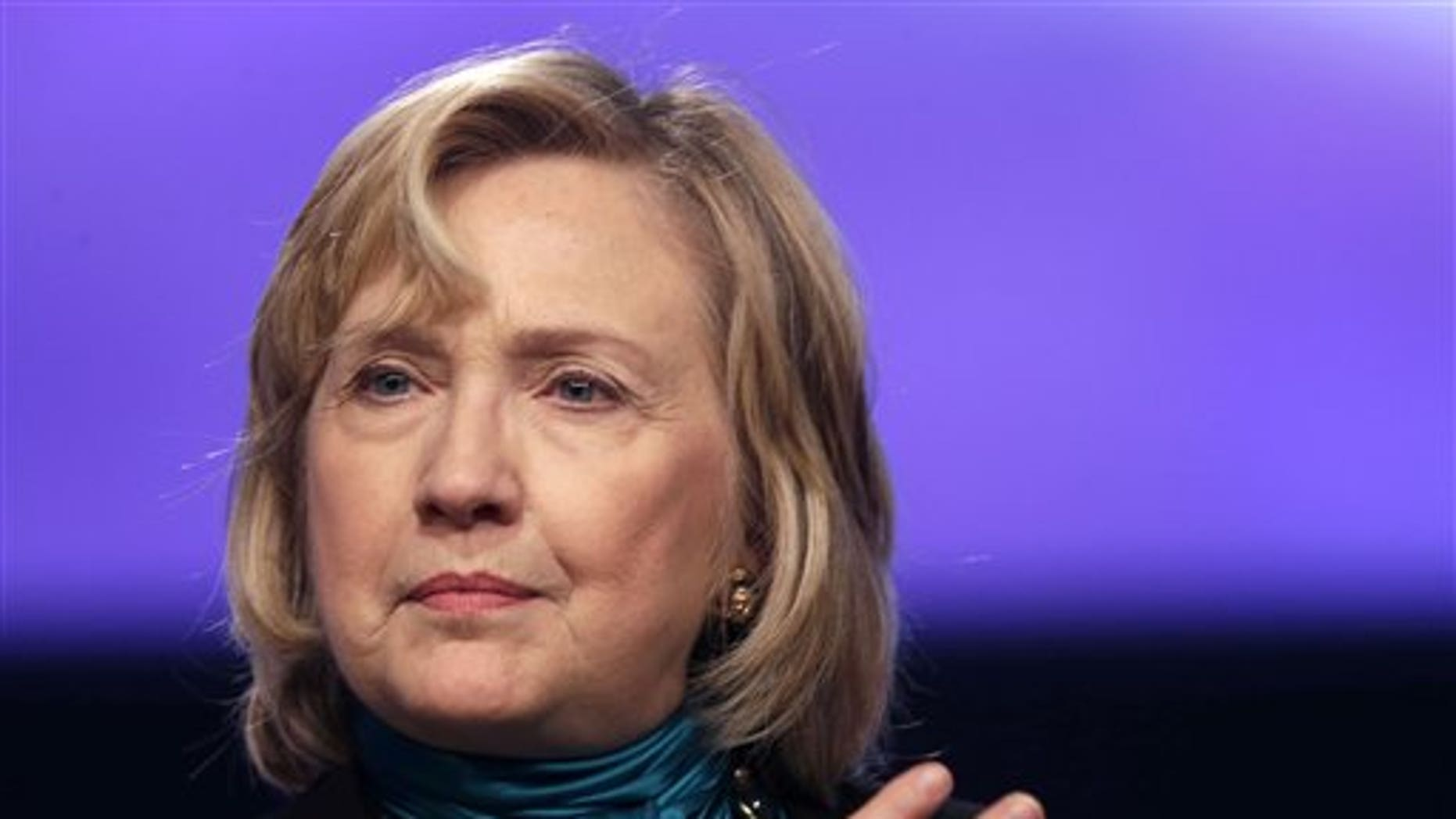 Jan. 27, 2014: Former Secretary of State Hillary Rodham Clinton speaks in New Orleans.