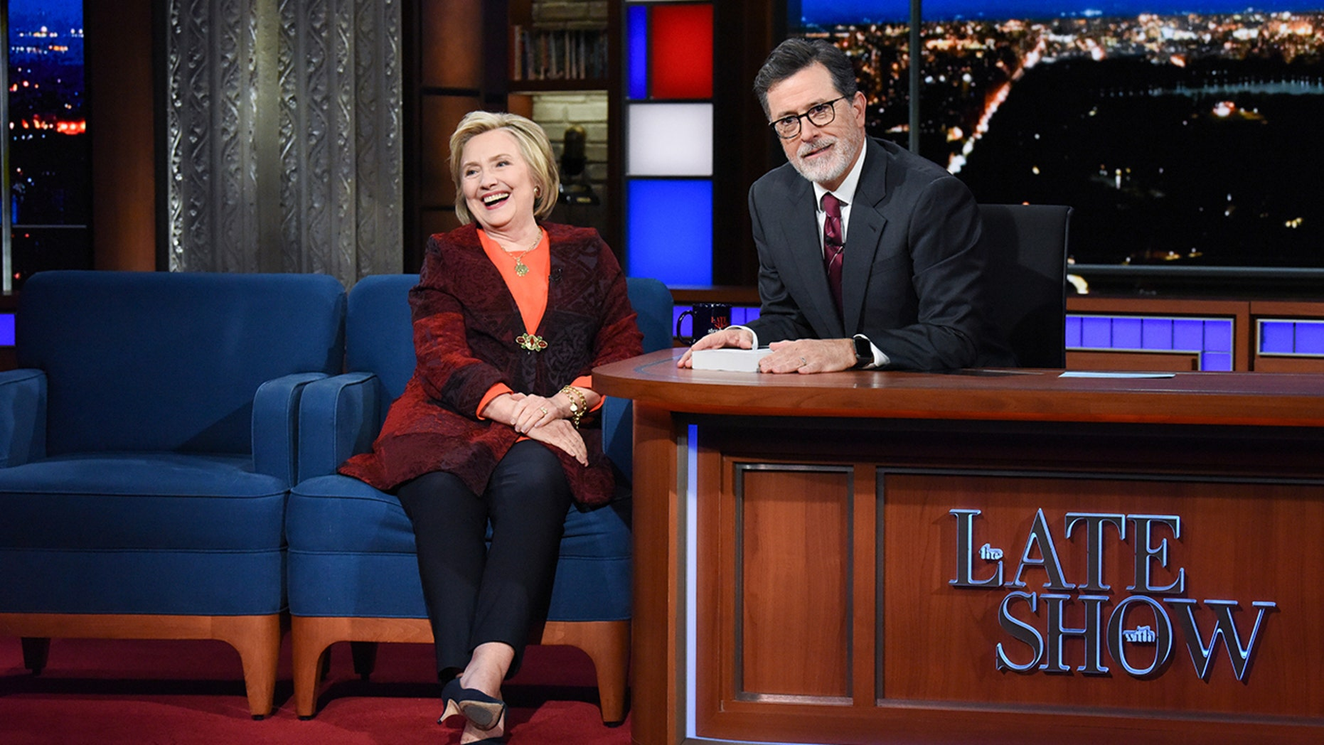 Hillary Clinton appeared on 'The Late Show with Stephen Colbert' to discuss the Brett Kavanaugh hearings.