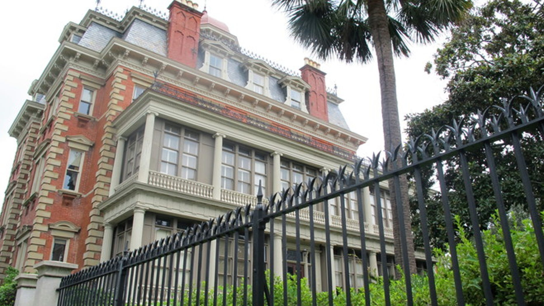 Aug. 23, 2012: The Wentworth Mansion in Charleston, S.C.