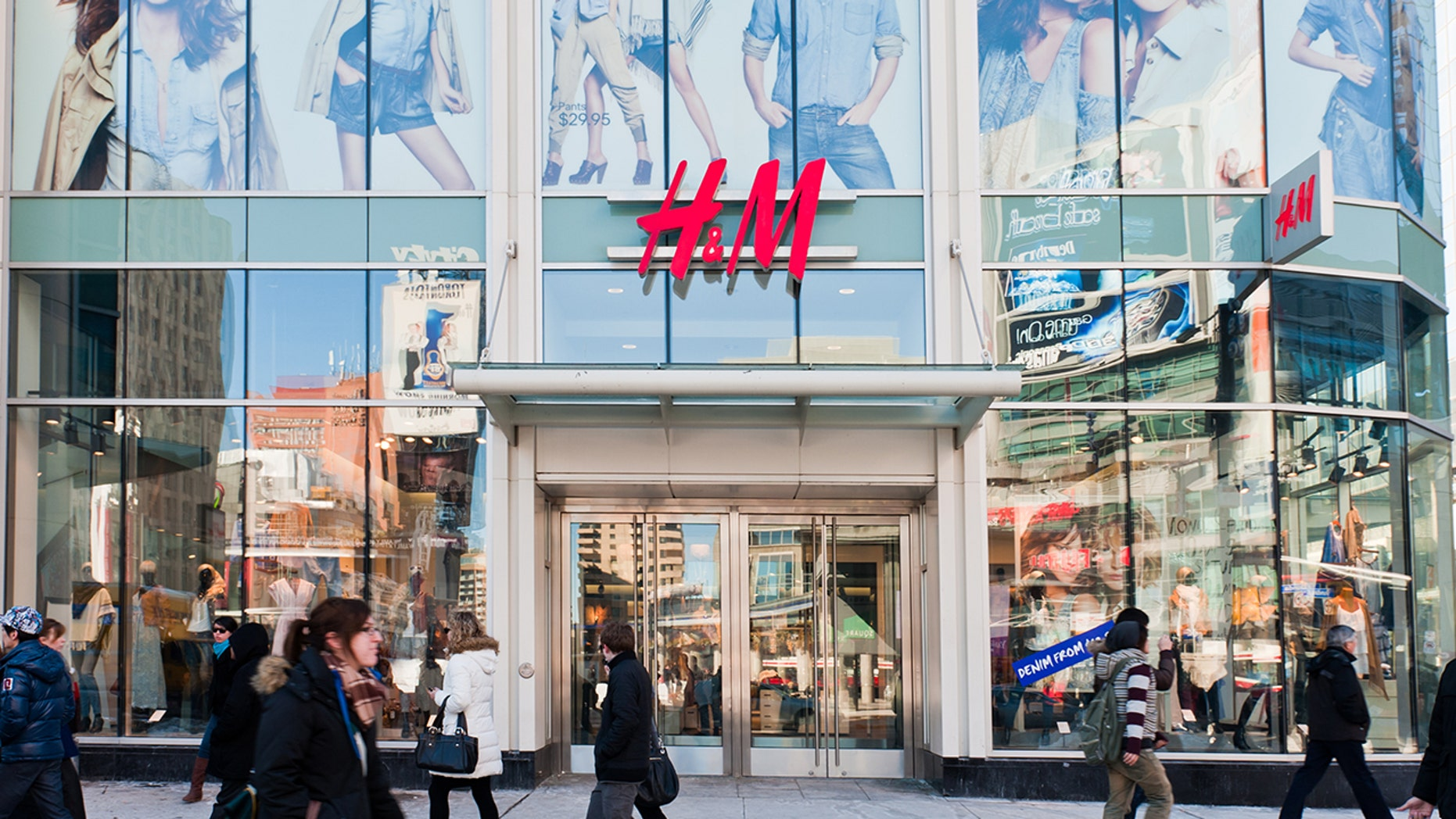 A woman is calling out H&M for their sizing discrepancies in a viral Facebook post