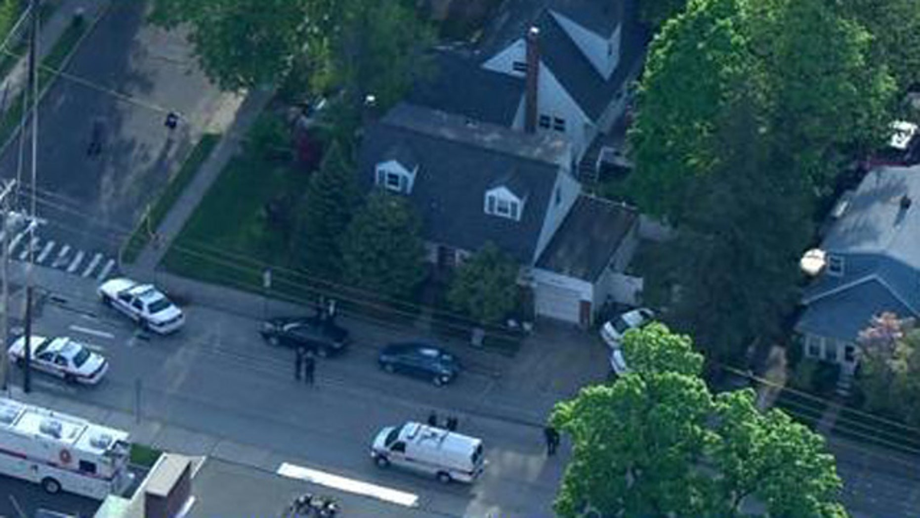Police say a female Hofstra University student was shot and killed during an apparent home-invasion robbery in Uniondale, Long Island.