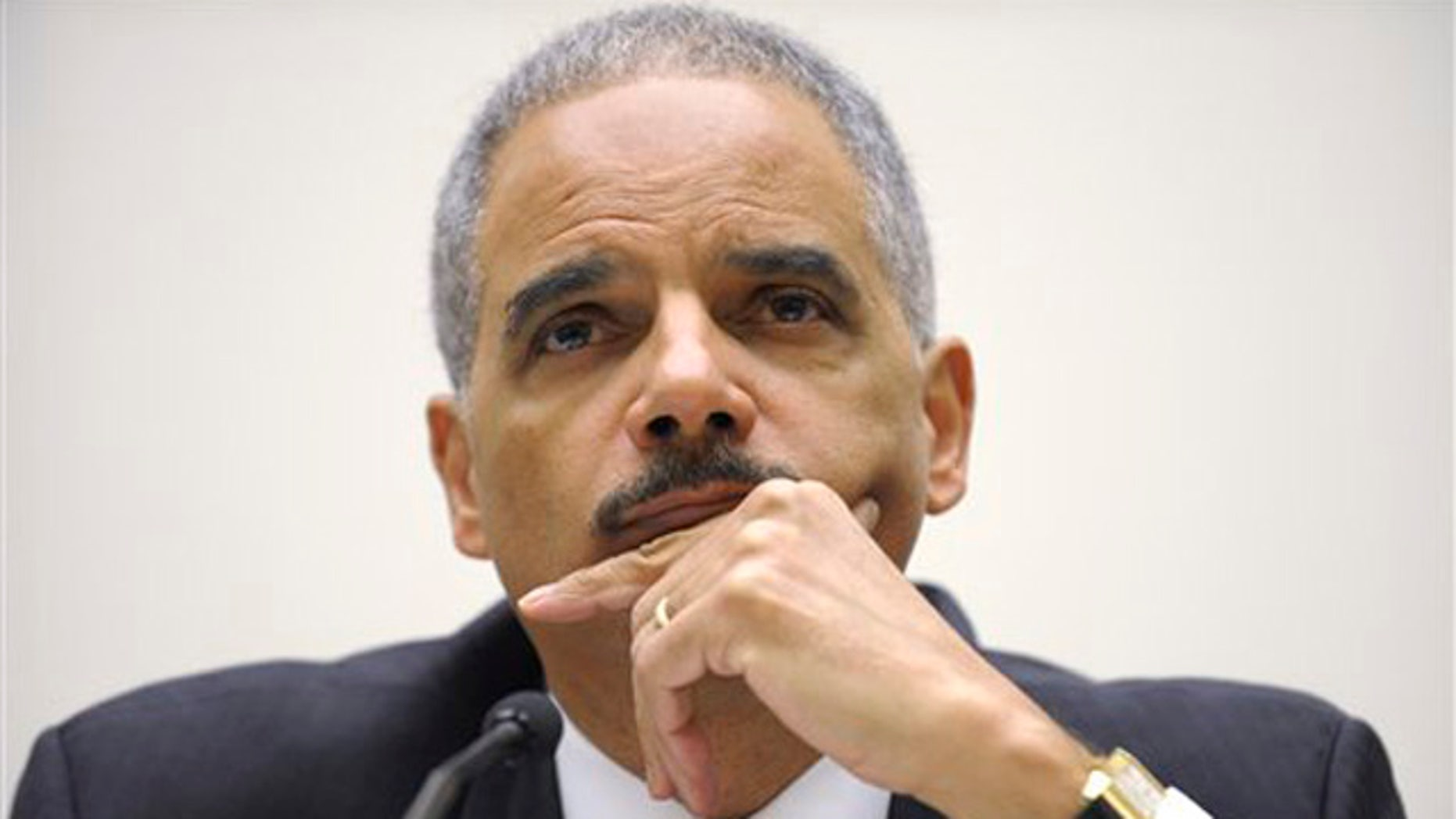 Dec. 8, 2011: Attorney General Eric Holder testifies on Capitol Hill in Washington before the House Judiciary Committee.