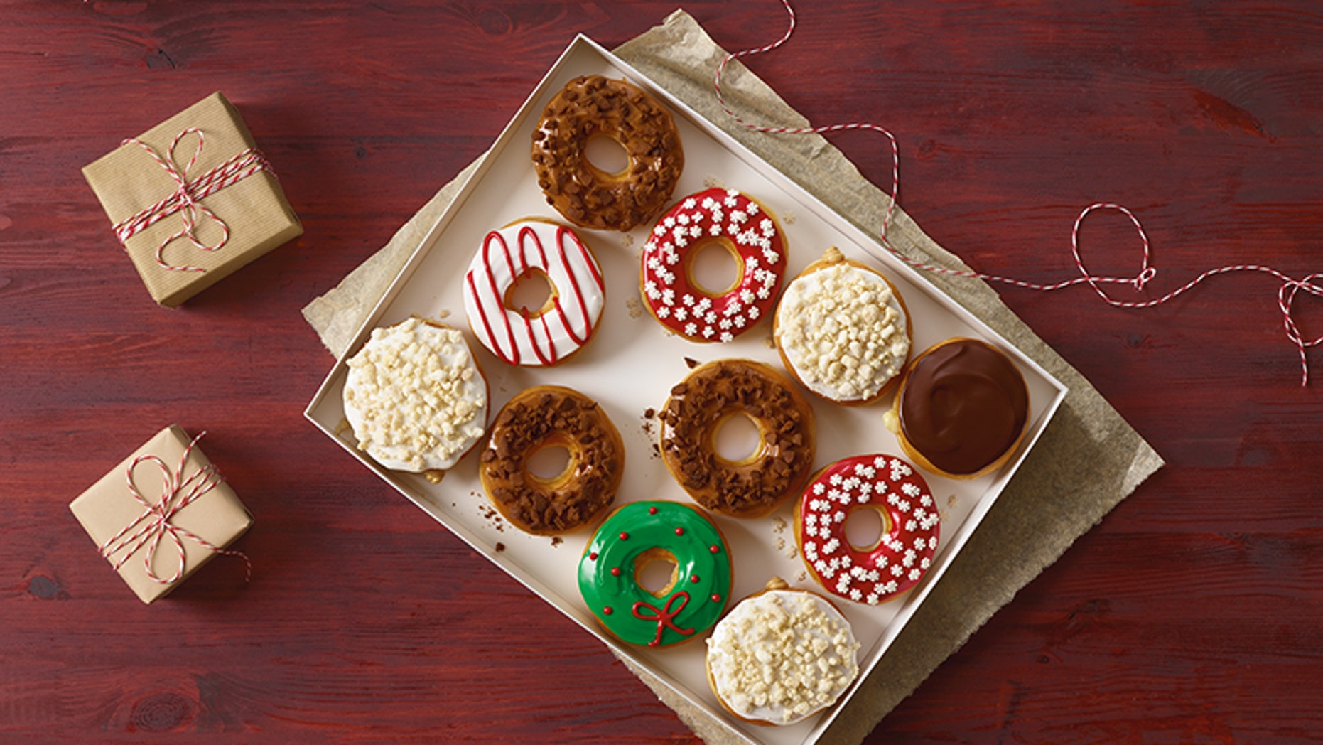 The doughnut chain is getting even sweeter this holiday season.