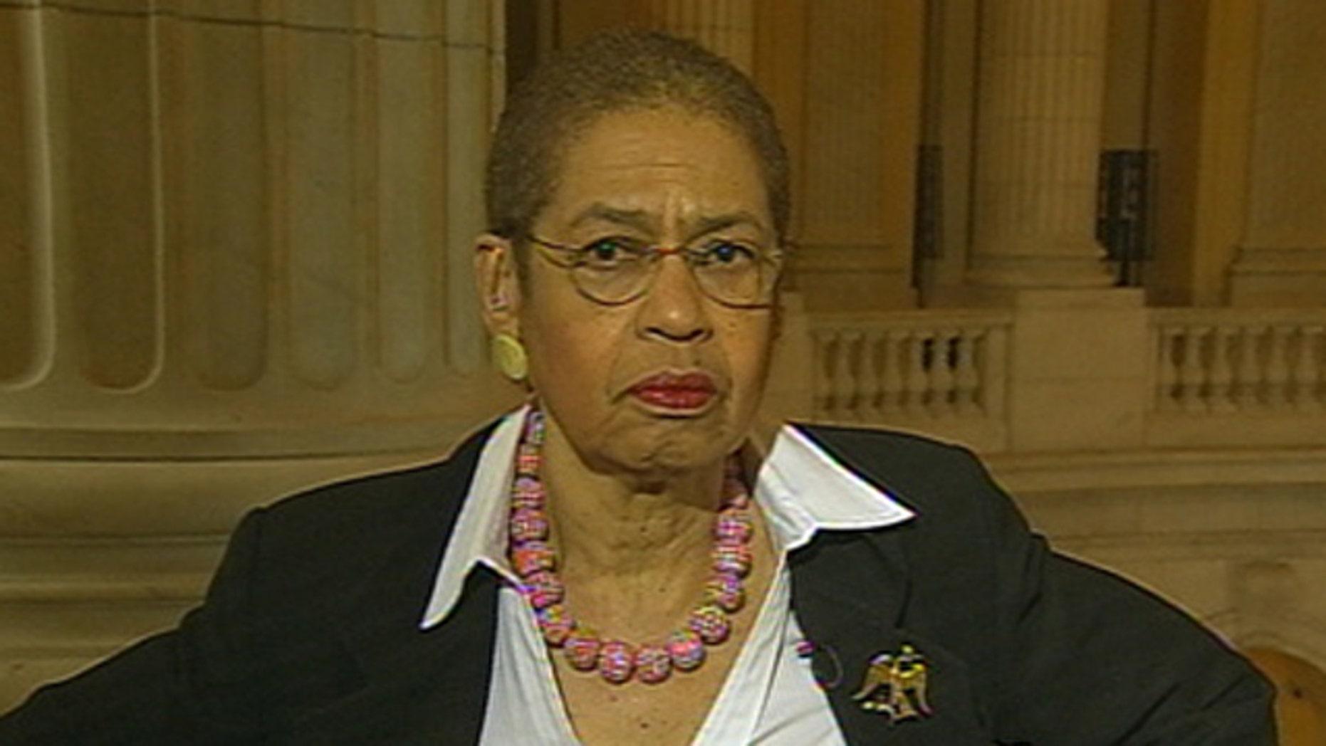 Shown here is D.C. Delegate Eleanor Holmes Norton.
