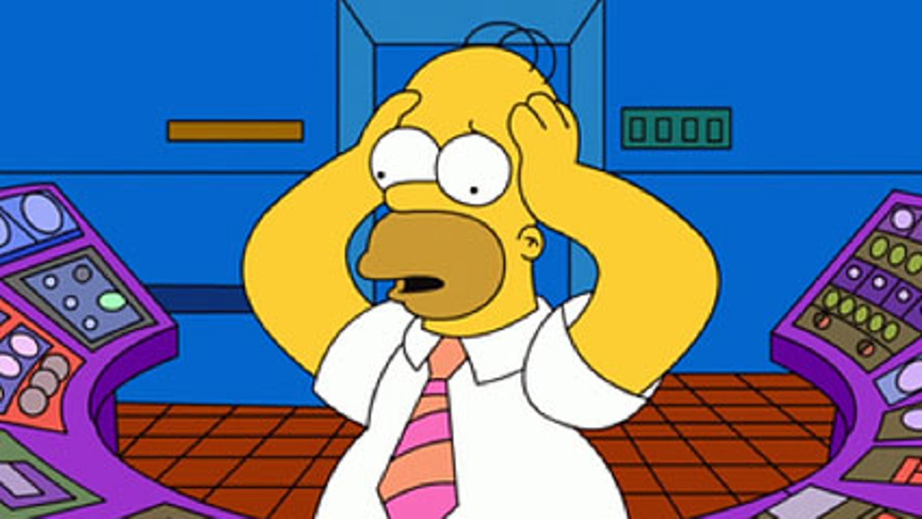 Homer Simpson from 'The Simpsons.'
