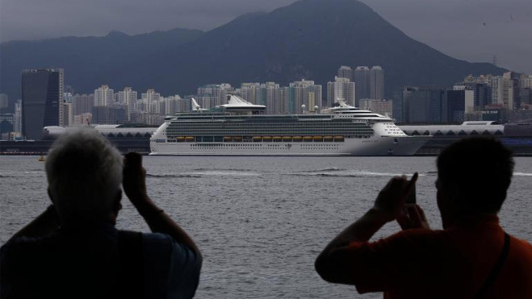 Cruise ship in Hong Kong. Some of the appeal to taking a cruise in Asia is that these trips tend to be longer,