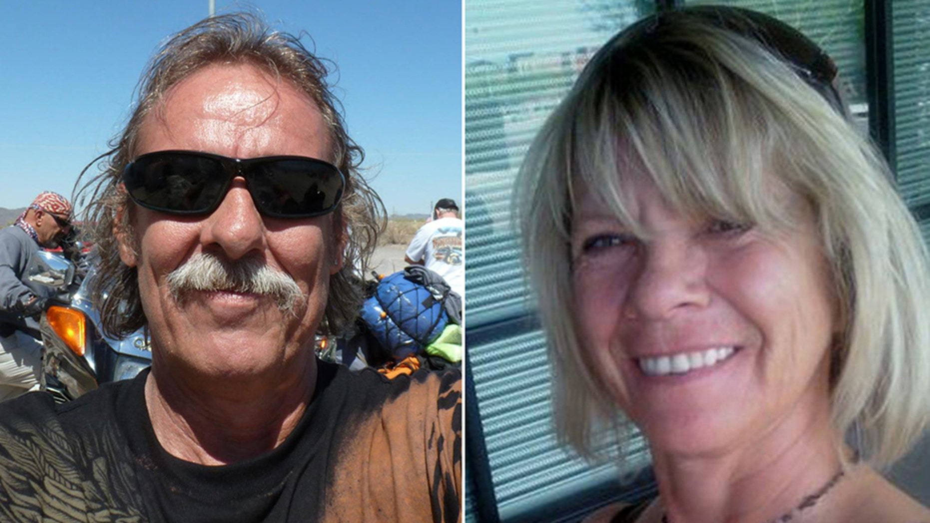 Normand Larose, left, and Rosalyn Few, right, were killed in the accident, the report said.