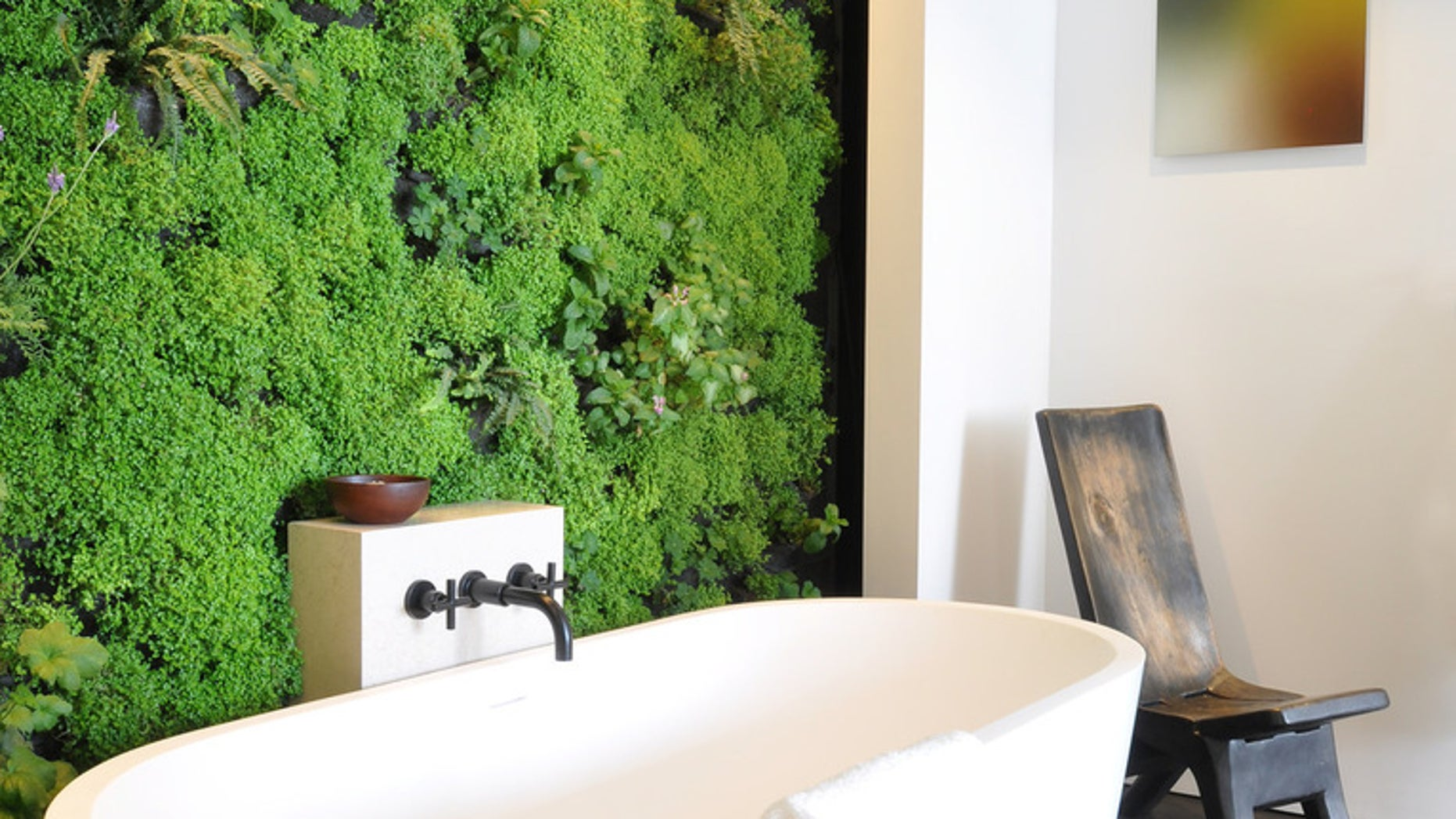 A Vertical Garden Is Truly A Living Wall. It Generates Oxygen While  Offering A Visual Focal Point Thatu0027s Arguably As Stunning As, And More  Affordable Than, ...