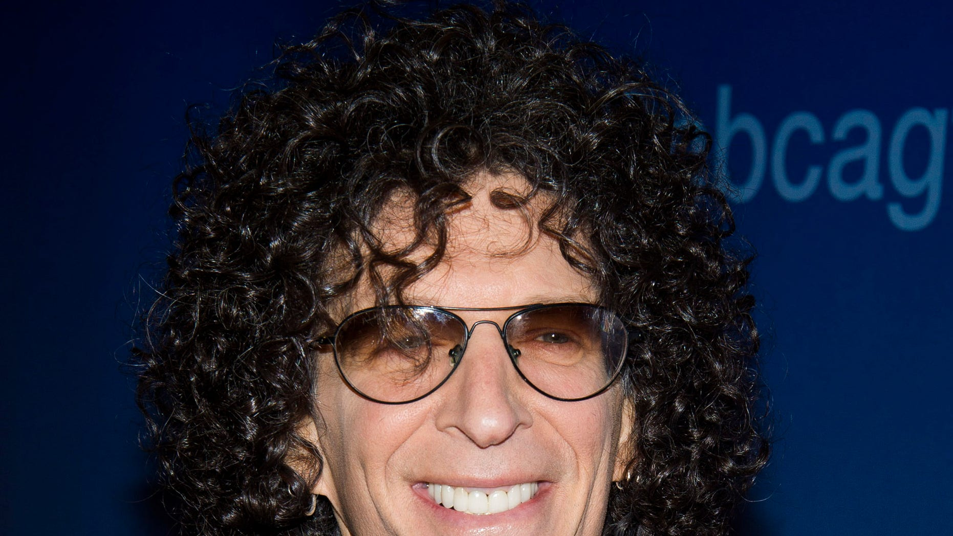 """April 4, 2014. Howard Stern arrives for an """"America's Got Talent"""" taping at Madison Square Garden on Friday in New York."""
