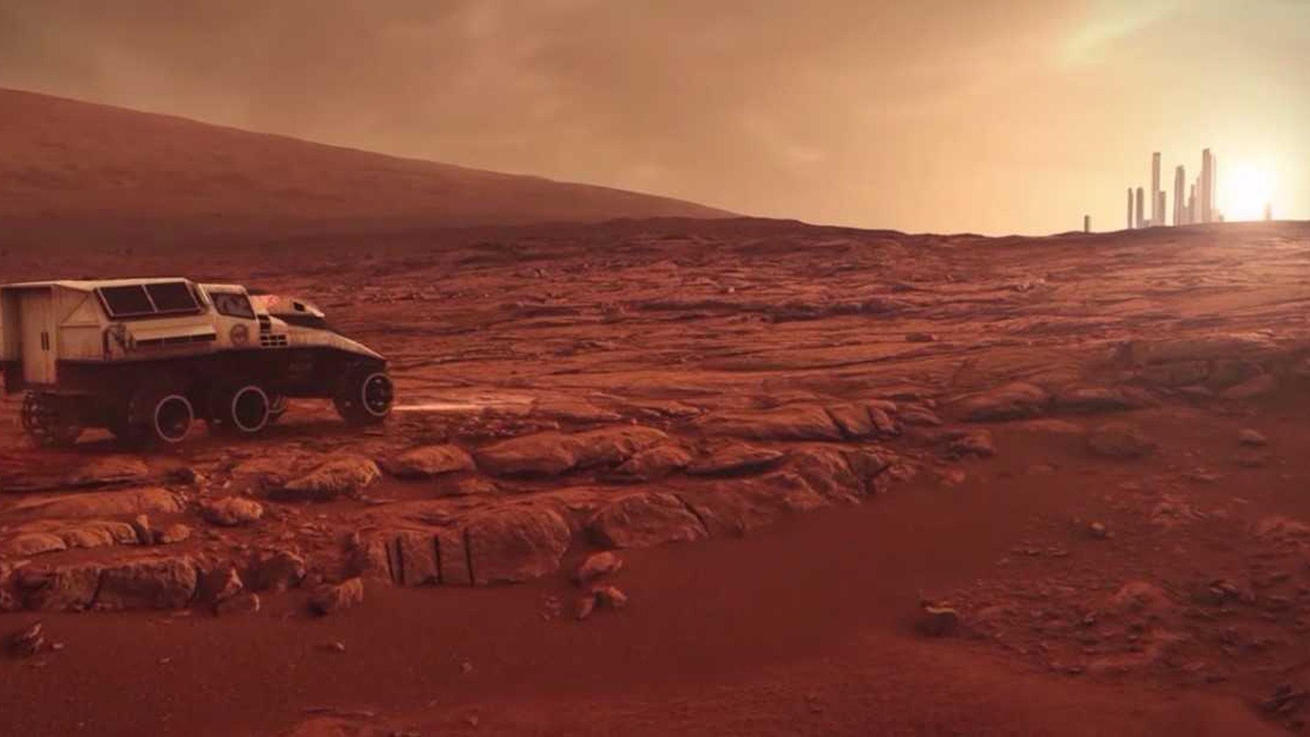 HP Mars Home Planet. (Credit: Hewlett-Packard)