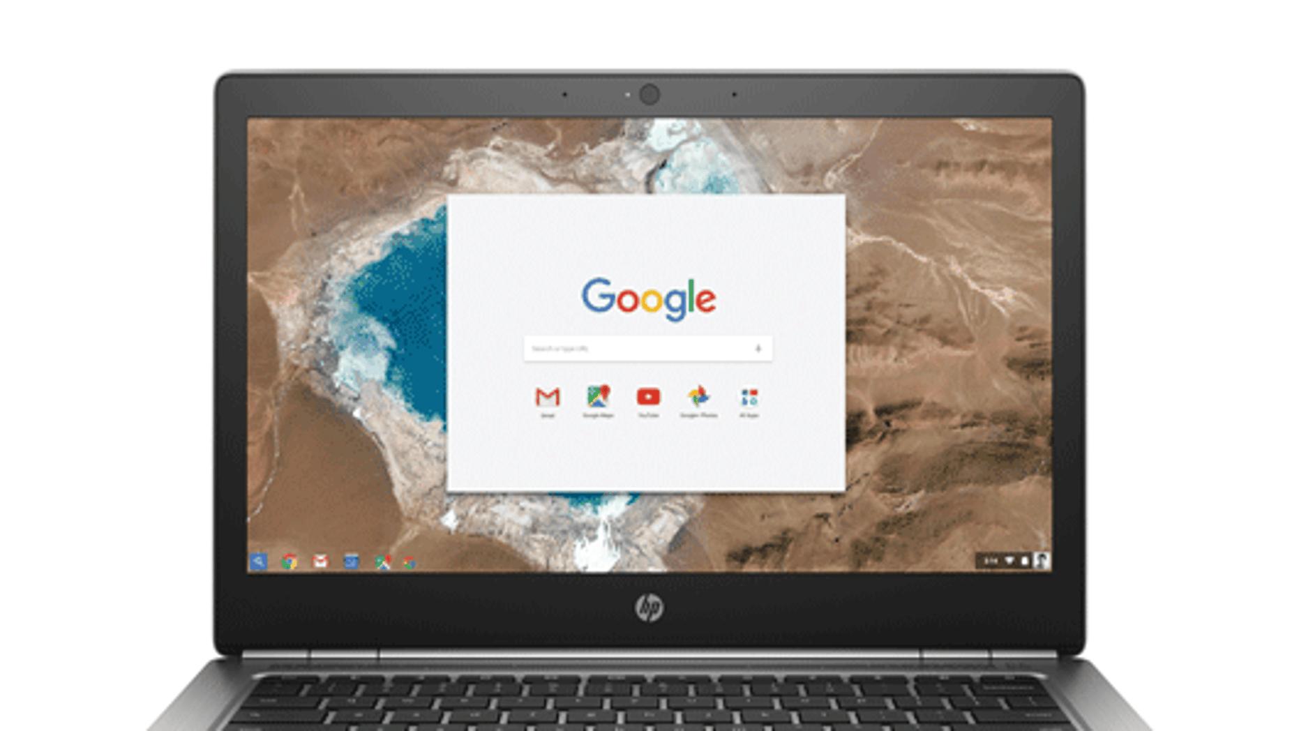 The HP Chromebook 13. (HP)