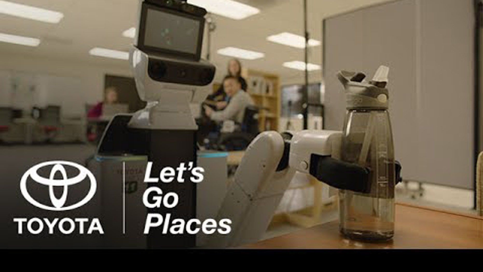 (Human Support Robot, Credit: Toyota YouTube)