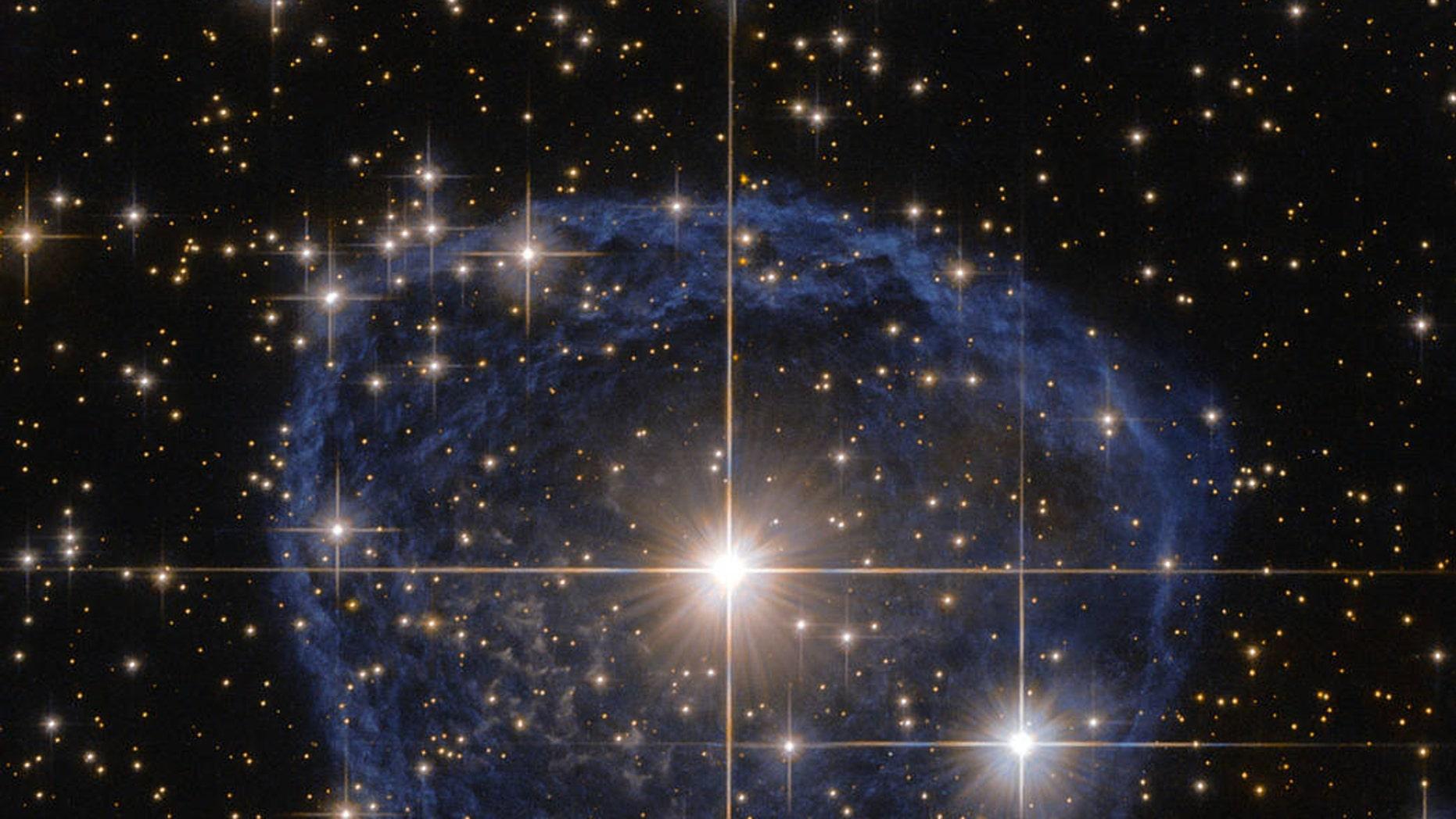 WR 31a (ESA/Hubble & NASA, Acknowledgement: Judy Schmidt)