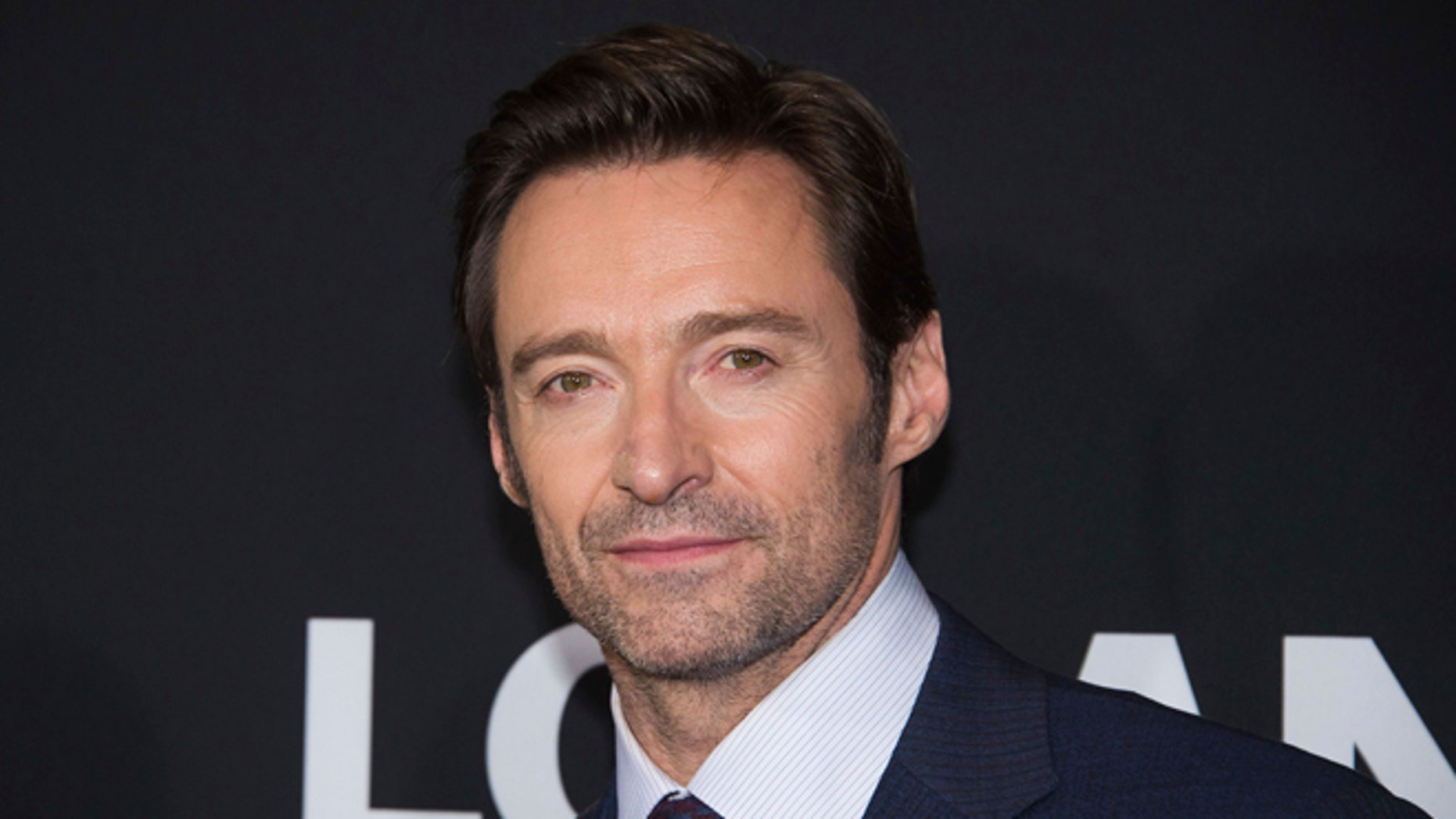 """FILE - In this Feb. 24, 2017 file photo, Hugh Jackman attends a screening of """"Logan"""" in New York."""