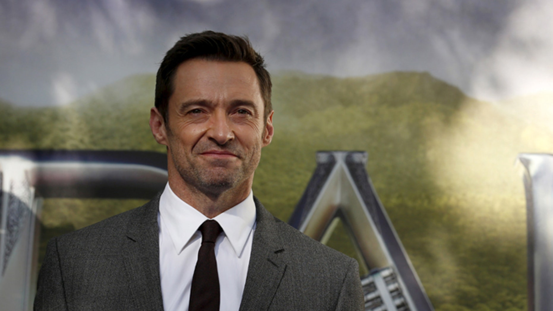 """September 20, 2015. Actor Hugh Jackman arrives for the world premiere of """"Pan"""" in London."""