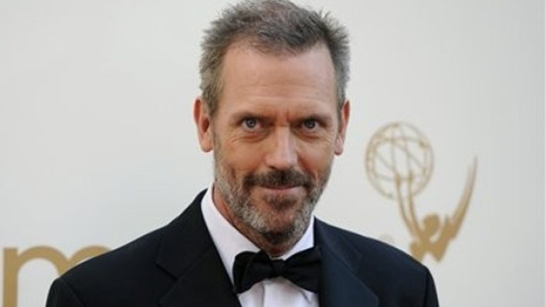 Sept. 18, 2011: Hugh Laurie arrives at the 63rd Primetime Emmy Awards on in Los Angeles.