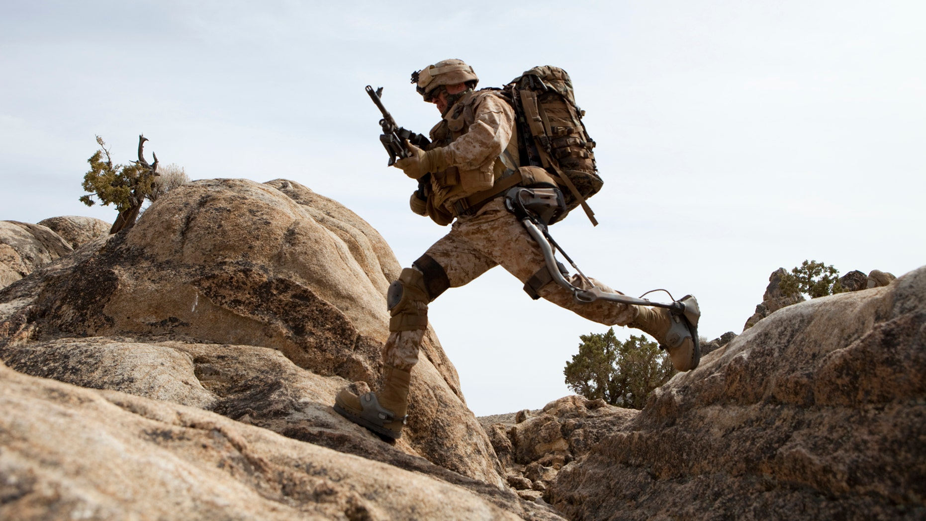 Lockheed Martin's HULC exoskeleton provides an energy boost for troops and helps prevent injuries during a battle.