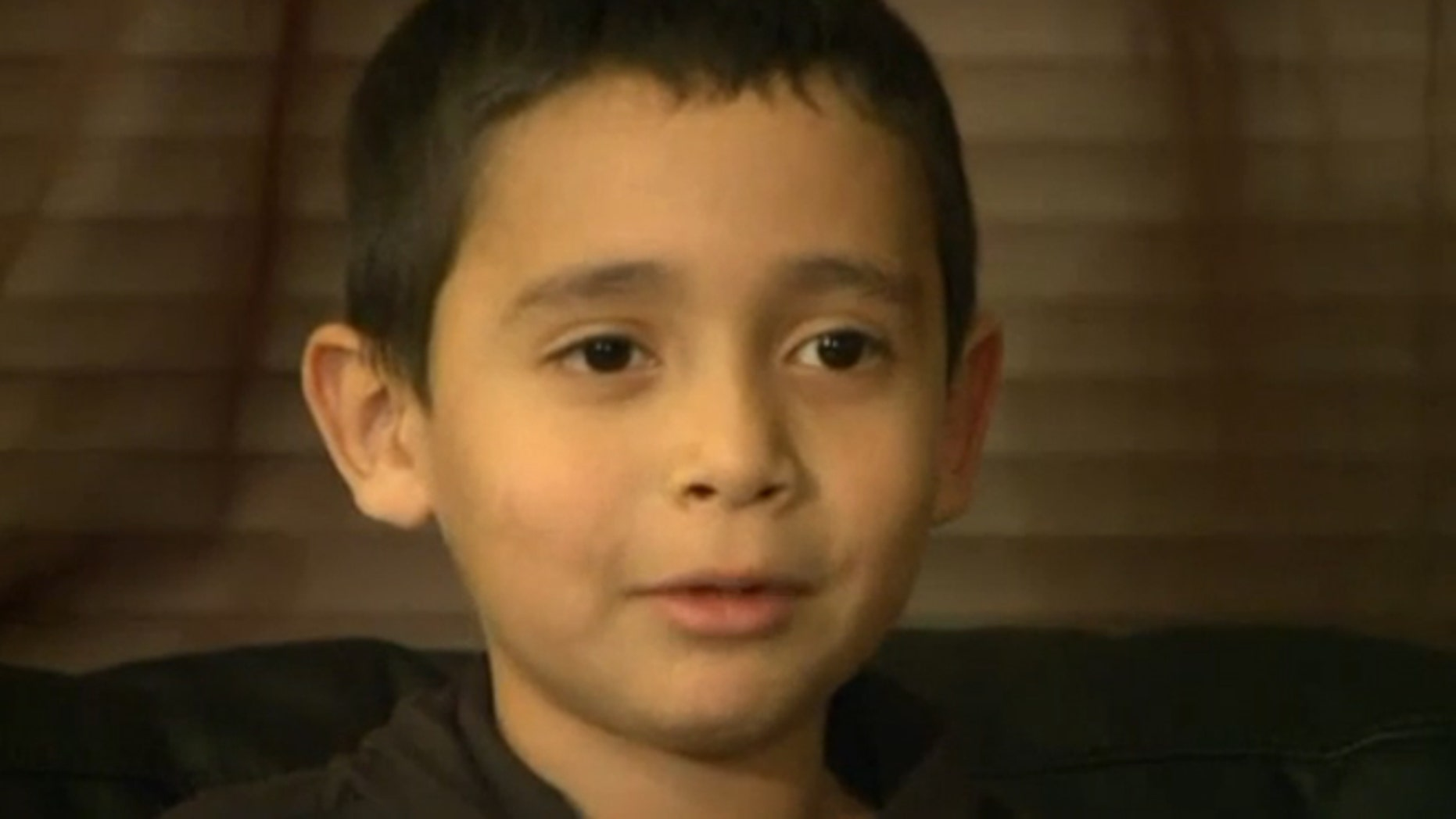 Xavier, a first-grader in Washington state, says he was told by a lunch lady that he could not eat from a sack lunch because he had a zero balance.