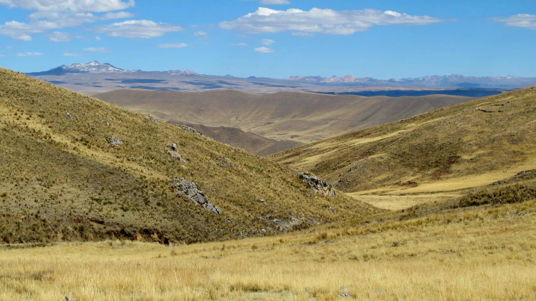 Intrepid hunter-gatherer families permanently occupied high-elevation environments of the Andes Mountains at least 7,000 years ago, according to new research led by University of Wyoming scientists. (Lauren A. Hayes)