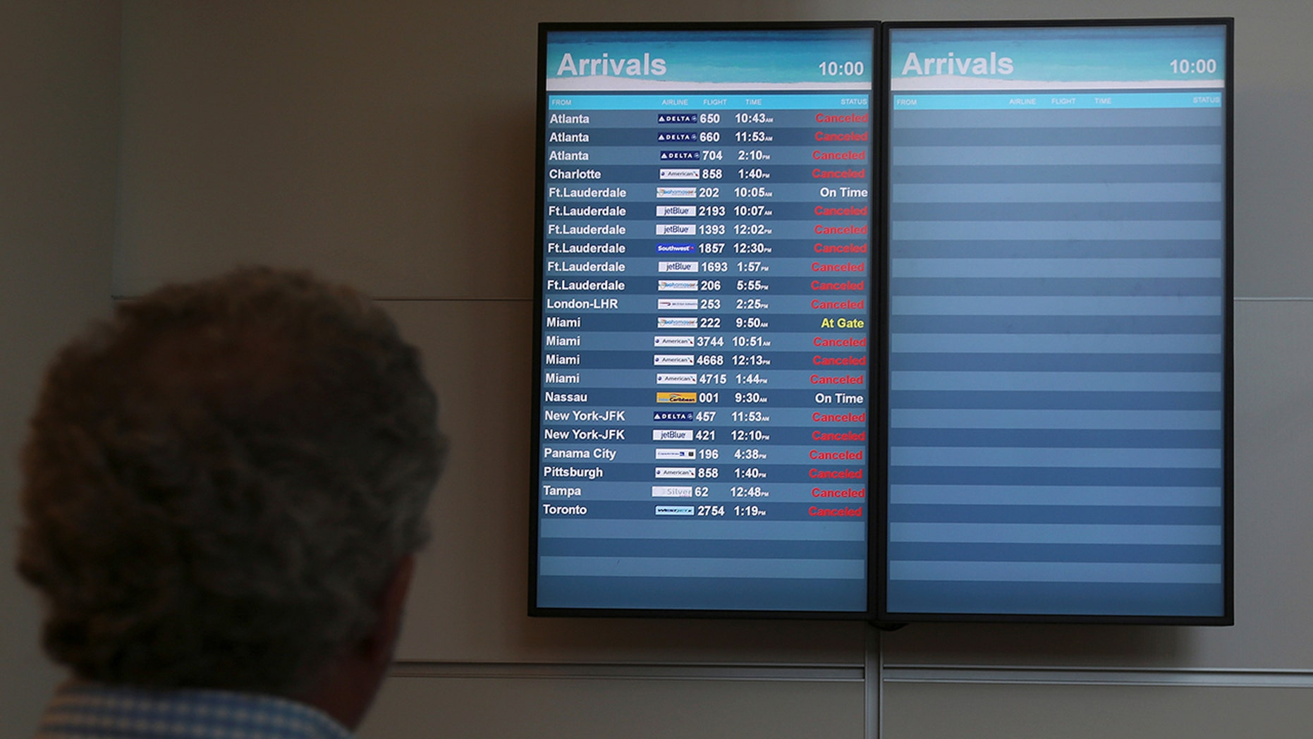 Thousands of flights have been cancelled with thousands more expected to follow suit in coming days.