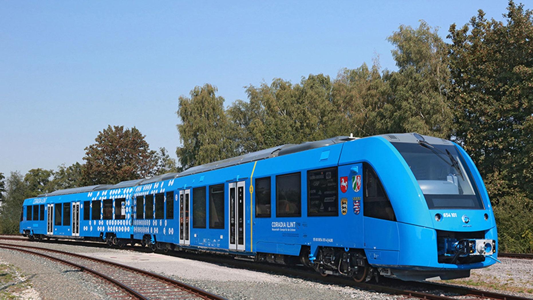 The Coradia iLint (Alstom).