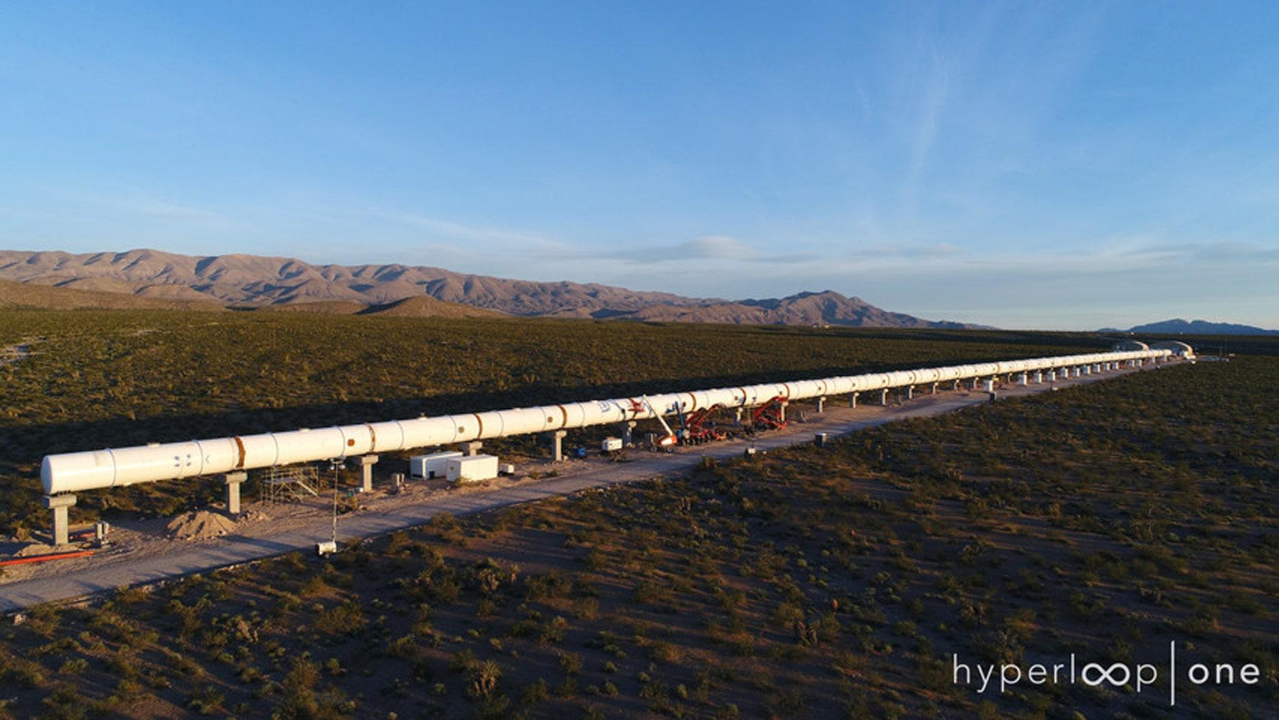 (Credit: Hyperloop One)