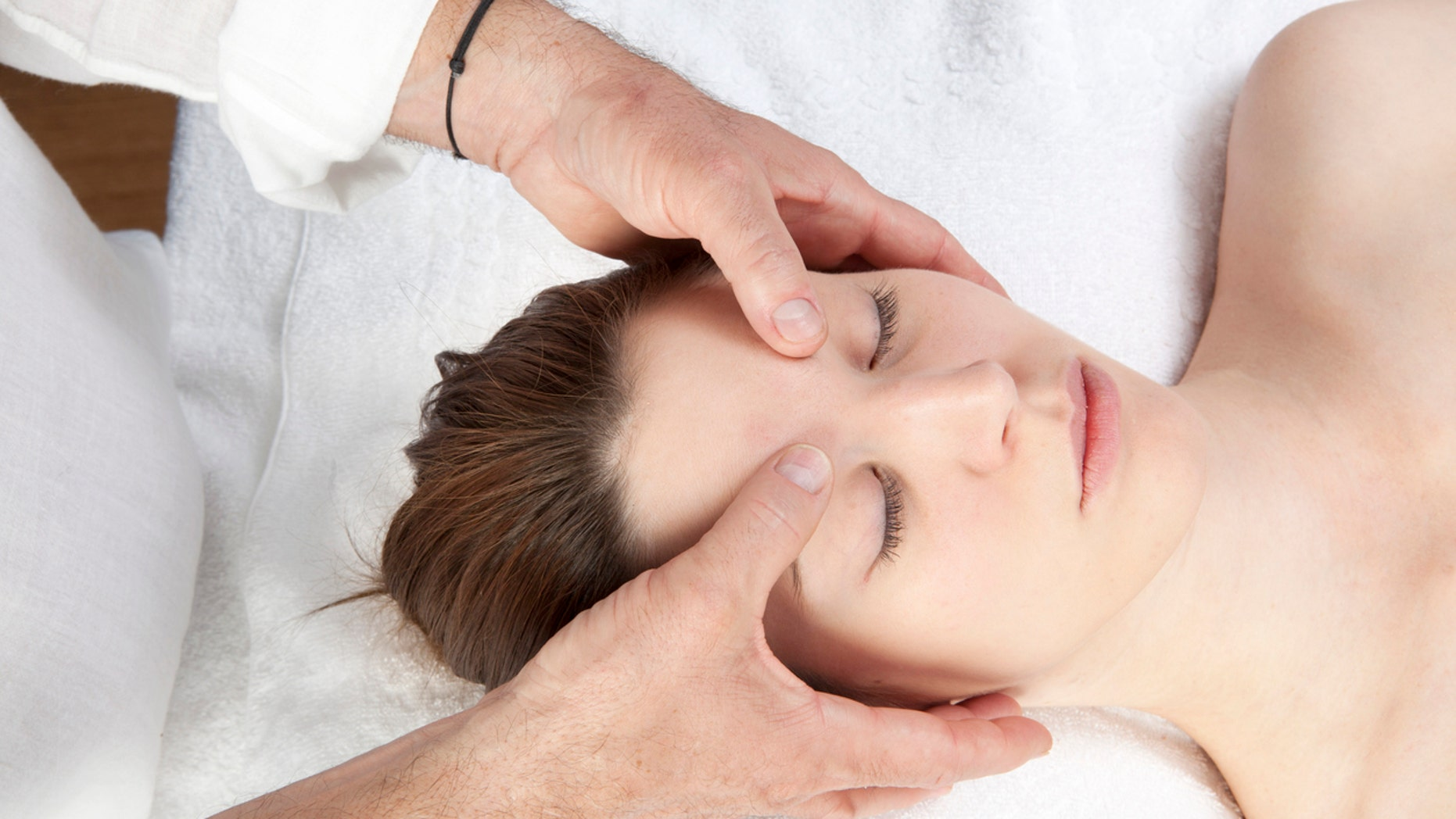 meridian facial stress relief