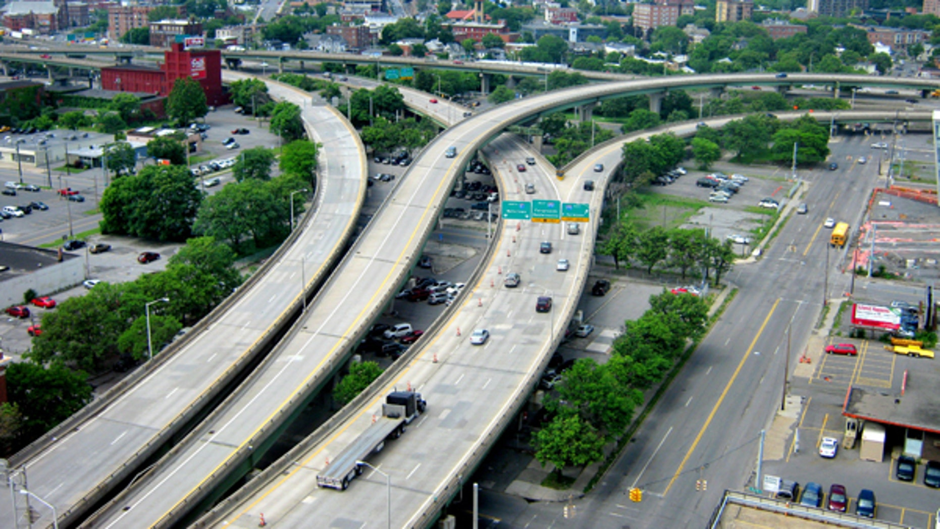 A new study points out ten of the worst highways and stretches of interstate in the country, including I-81 in Syracuse, New York.
