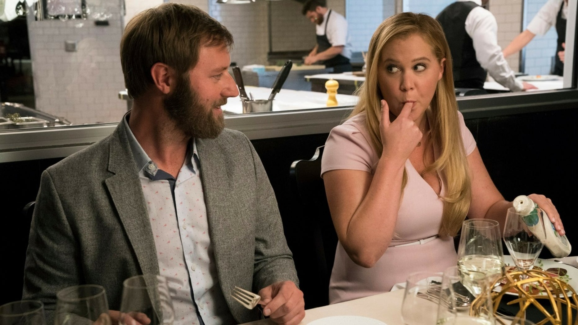 "Amy Schumer's latest film ""I Feel Pretty"" has opened to lukewarm reviews."
