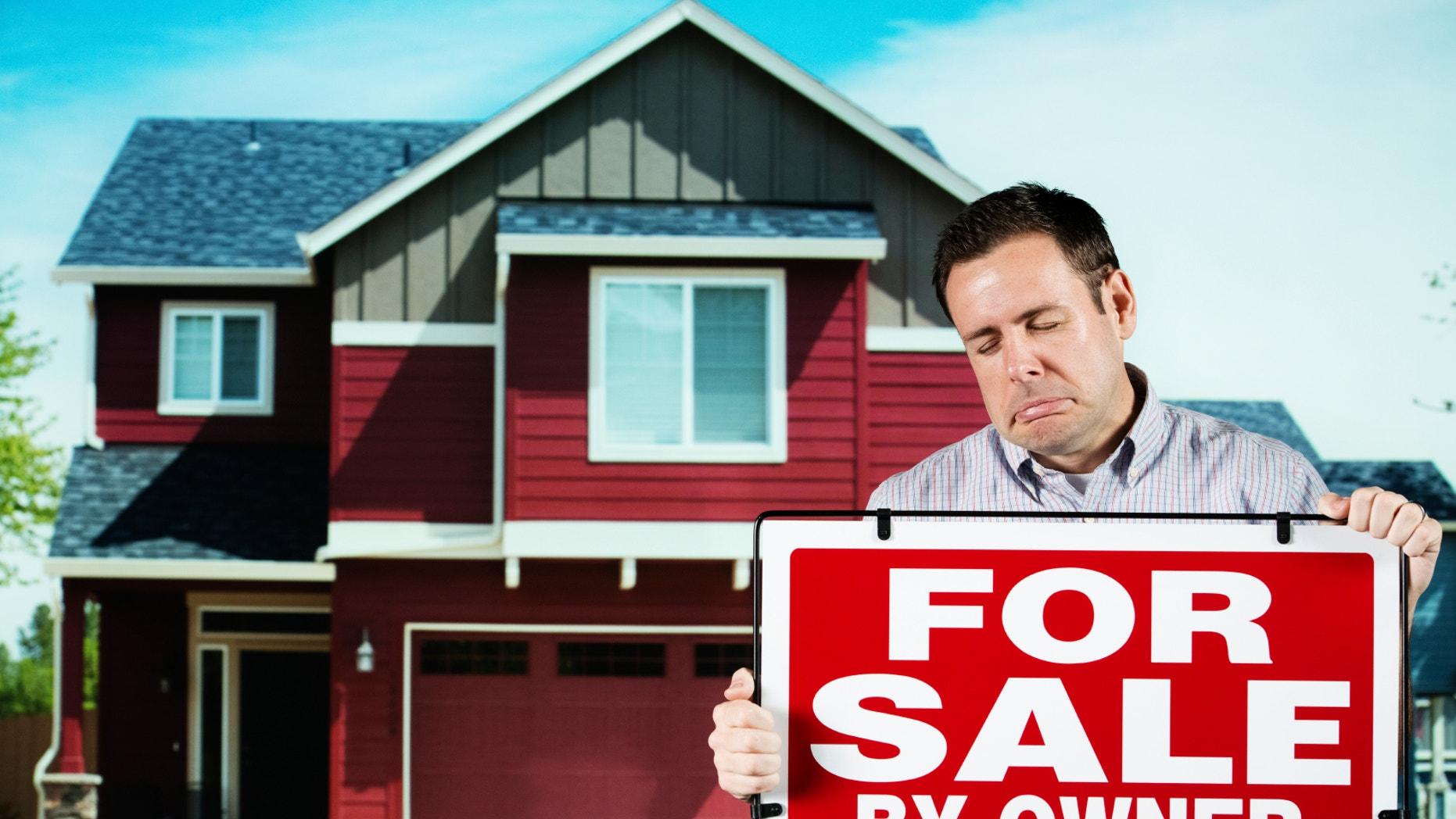 home sales down sad seller