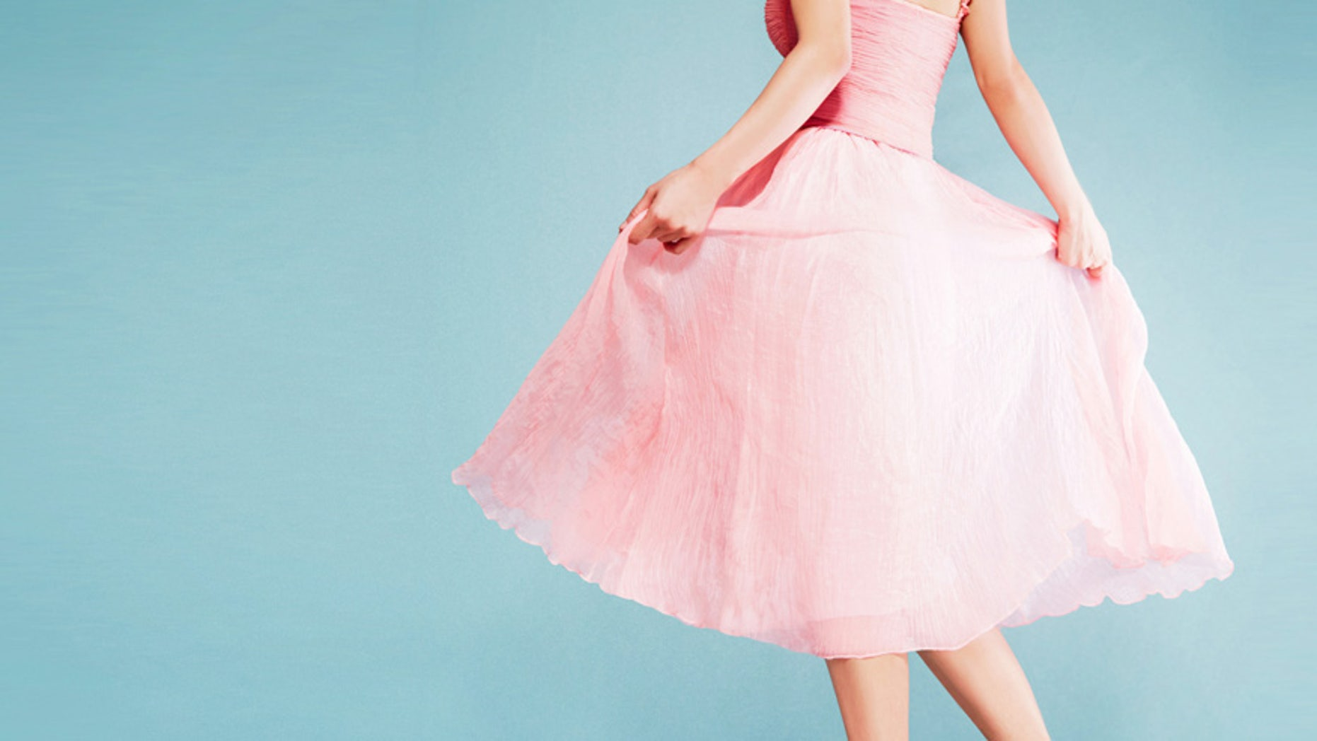 Millennial pink is the new trendy color to wear this season.