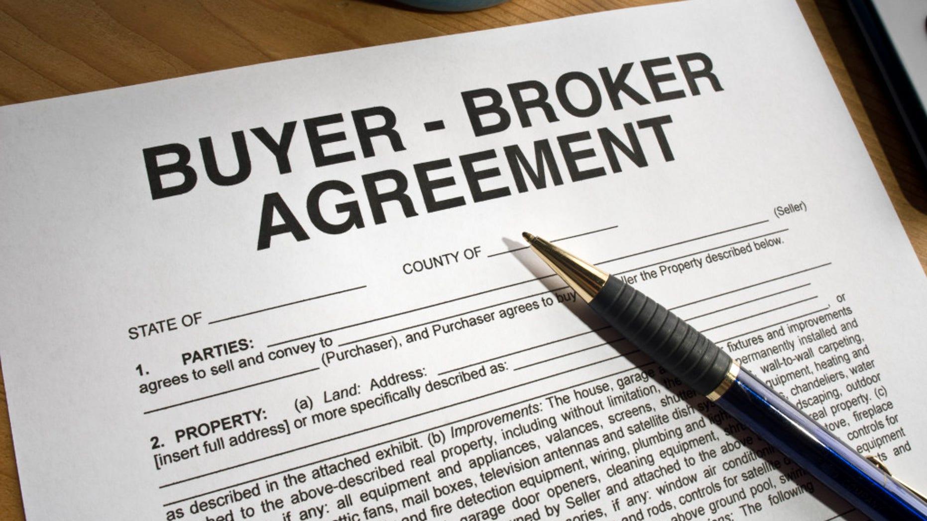 Buyer-broker contract