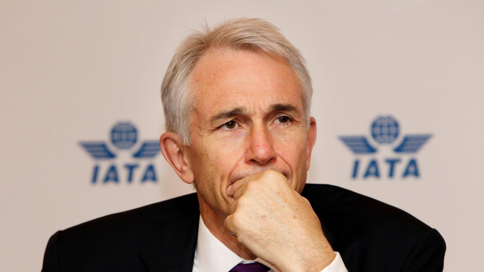 International Air Transport Association (IATA) director general Tony Tyler REUTERS/Jason Lee