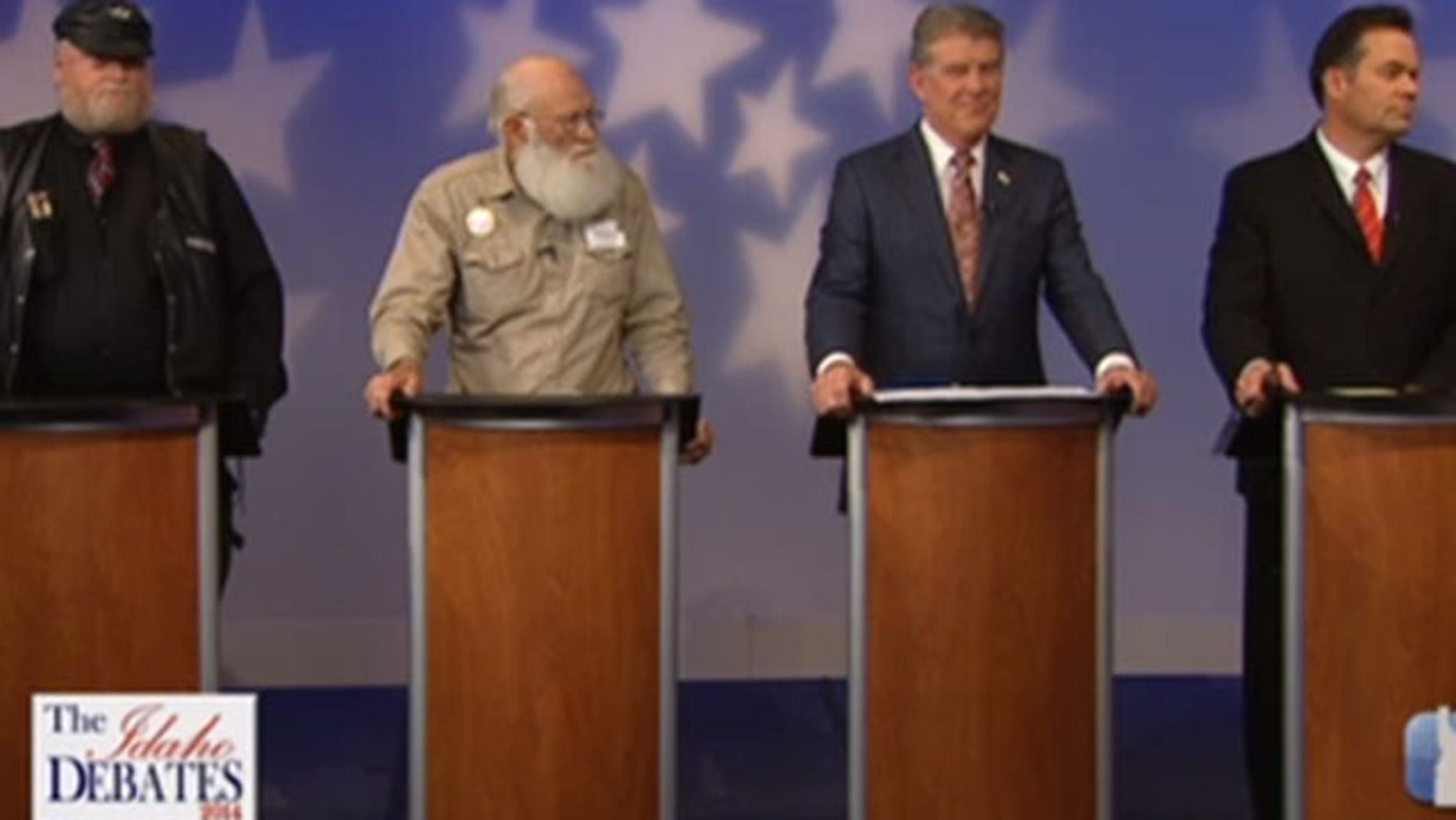 May 15, 2014: The candidates for the Republican nomination for governor in Idaho face off in a debate.