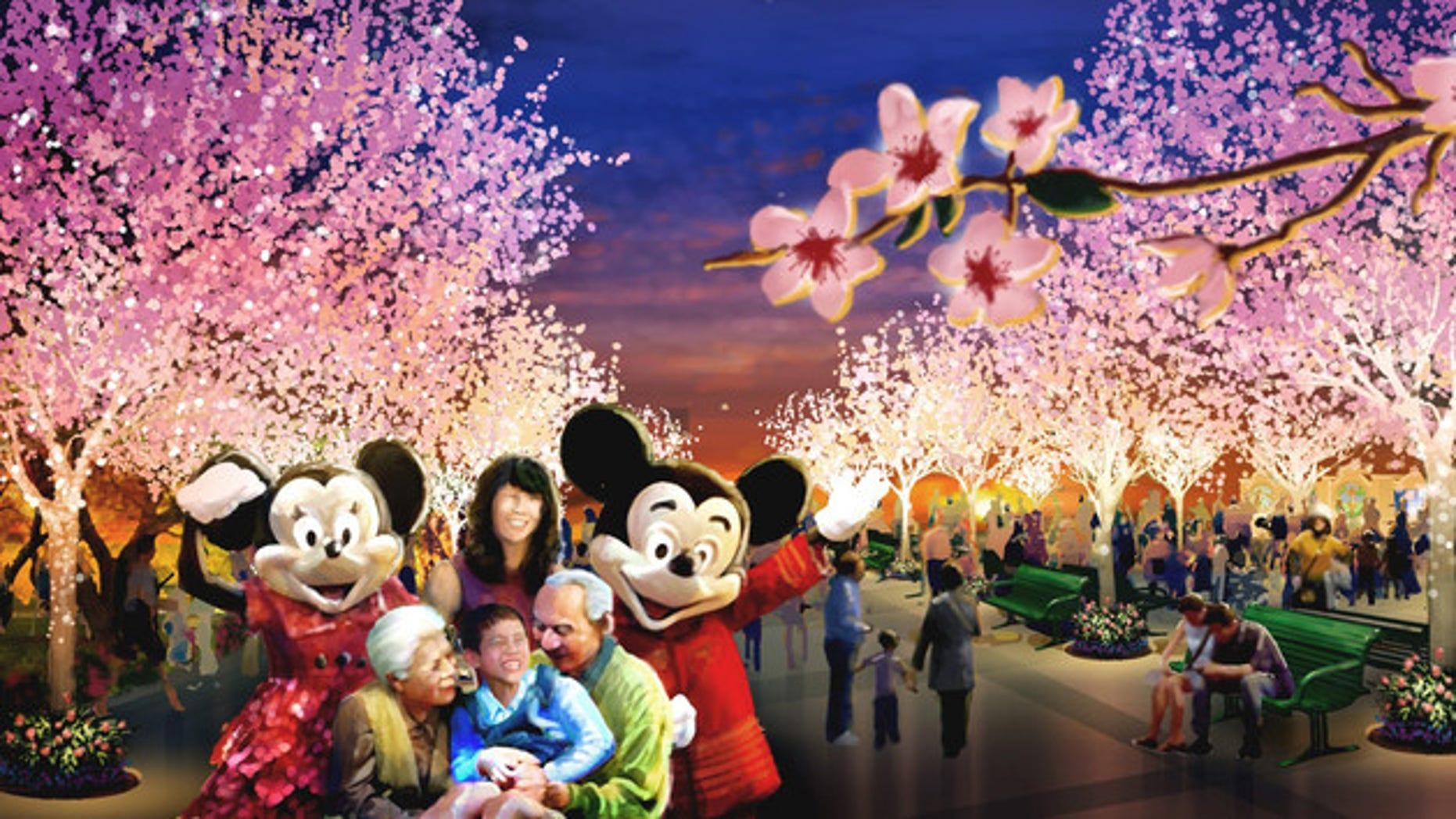 Disneyland is opening a Shanghai park this June.