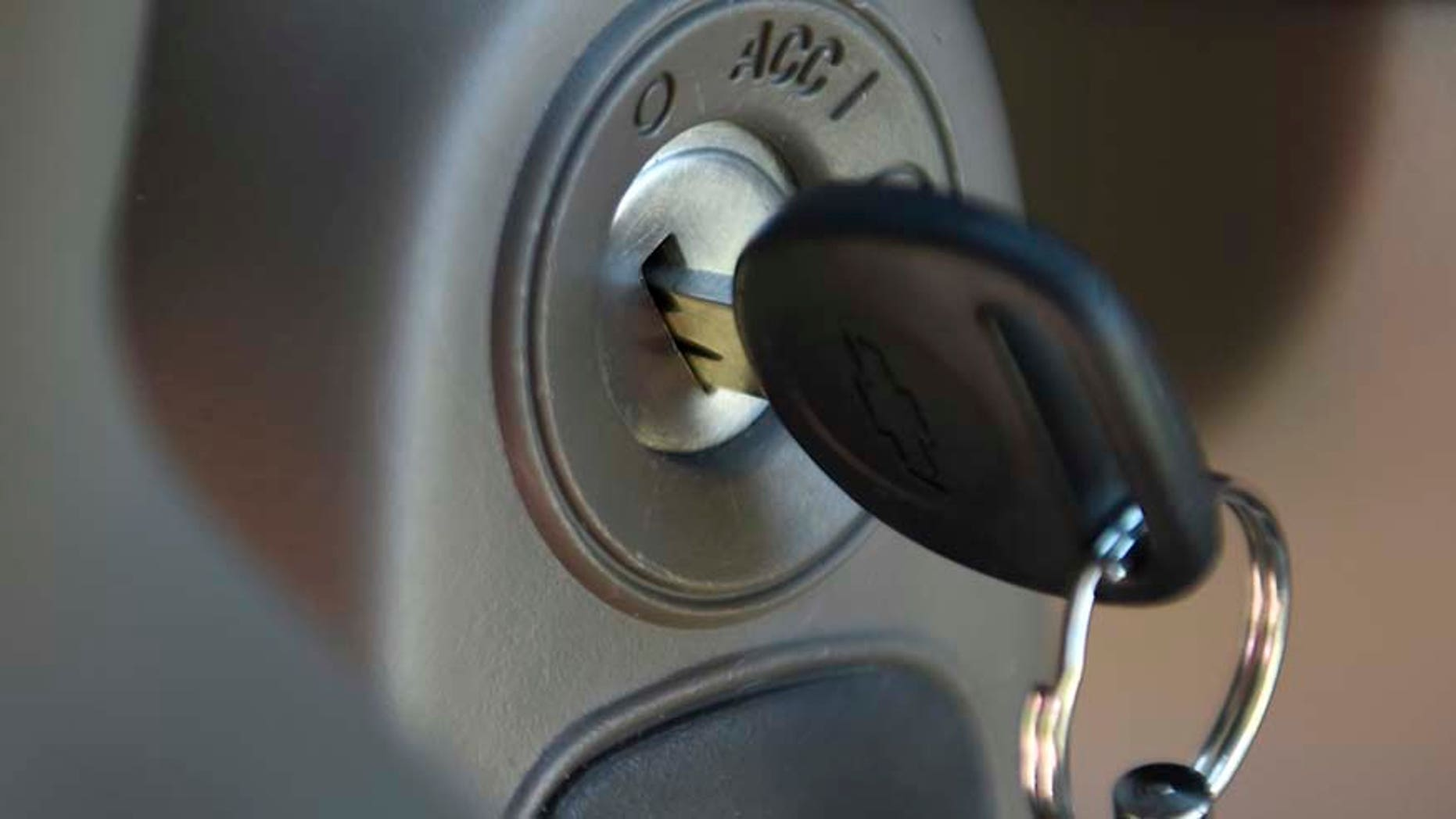 Ignition switch of a 2005 Chevrolet Cobalt