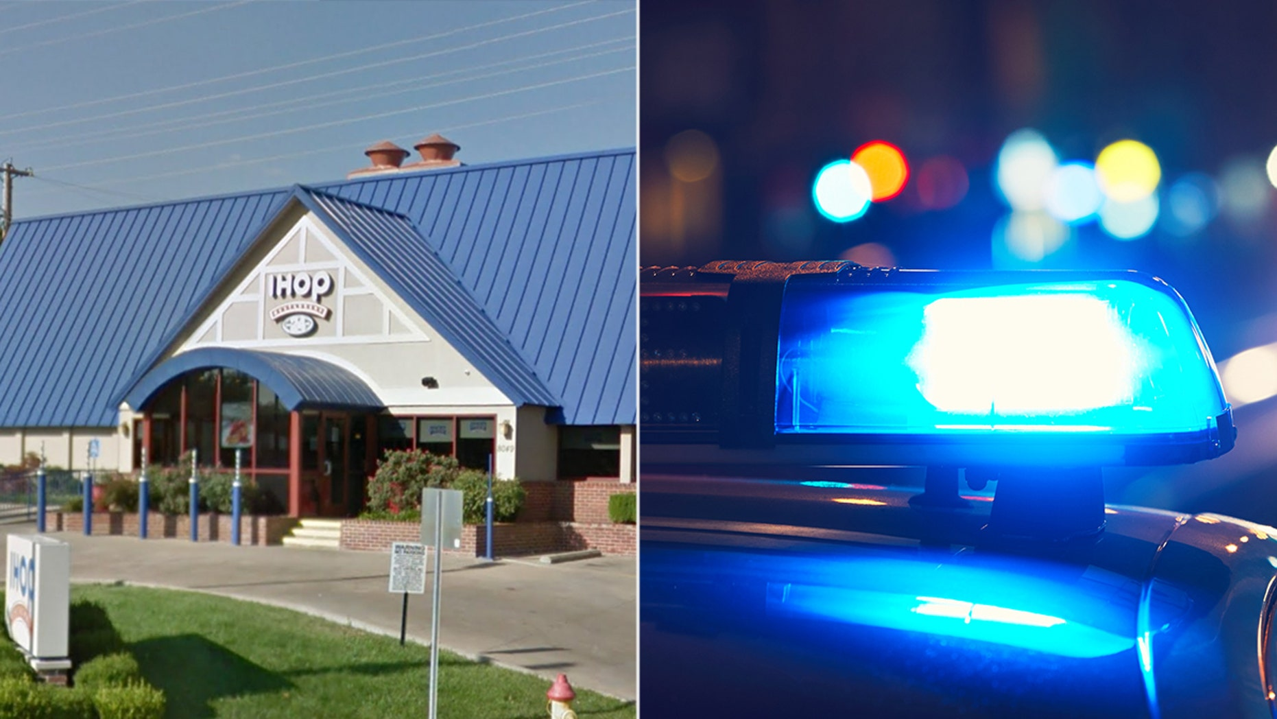 Police stopped the students after an IHOP manager said a group of black men walked out on a bill.