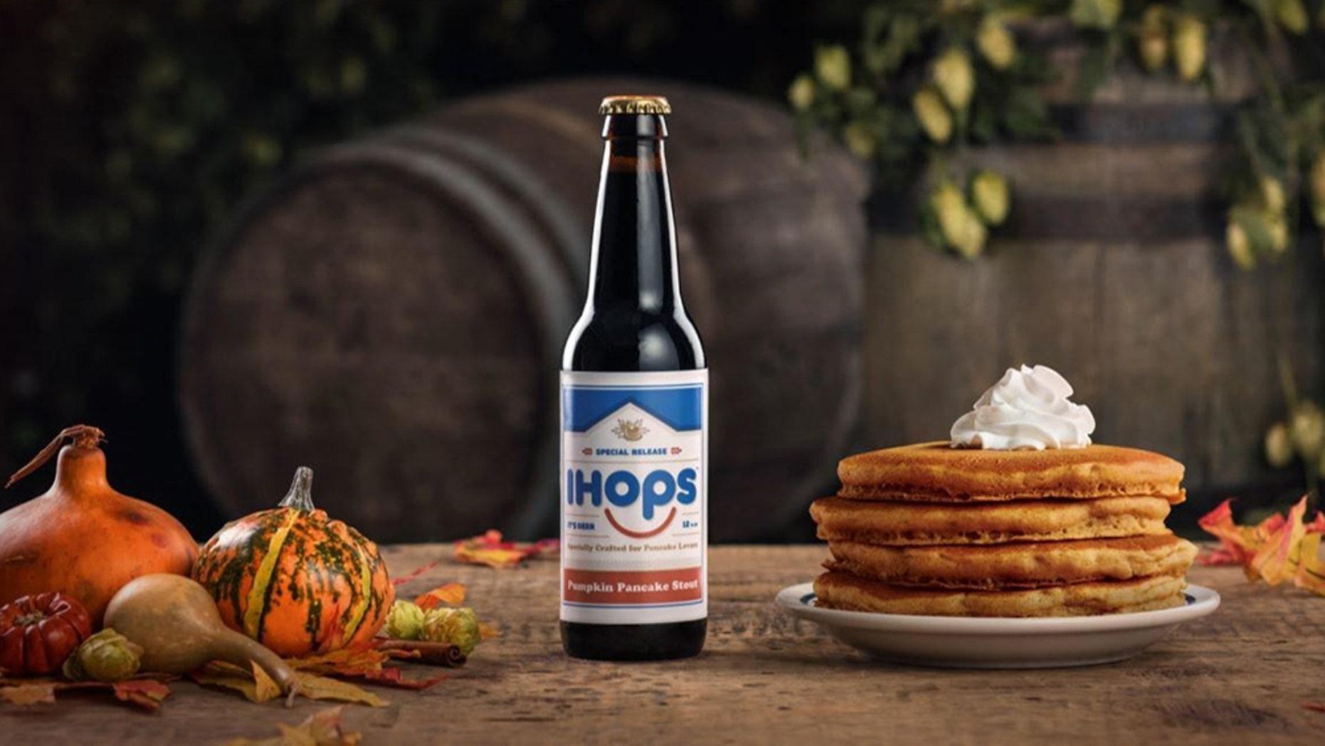 IHOP debuts pancake-infused beer called IHOPs, brews it with