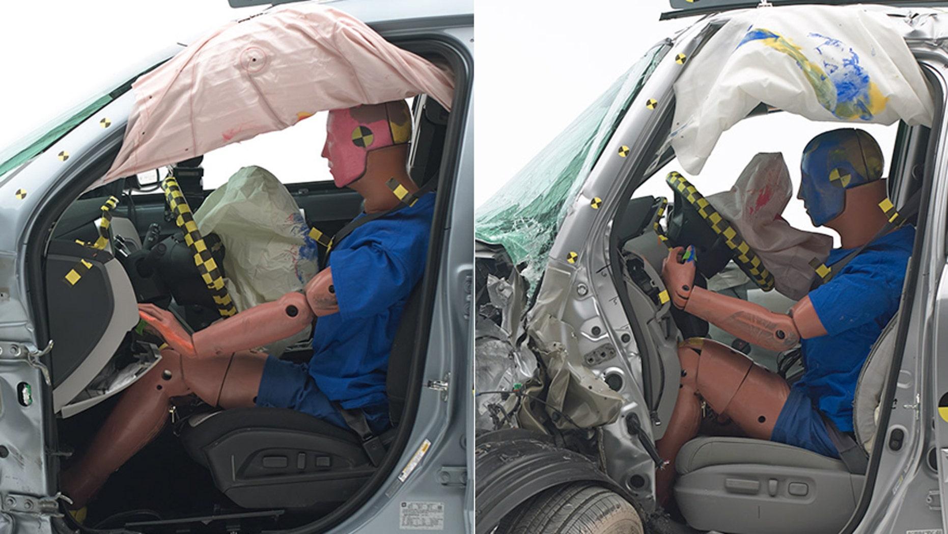 Chevrolet Equinox (L), Honda Pilot (R)