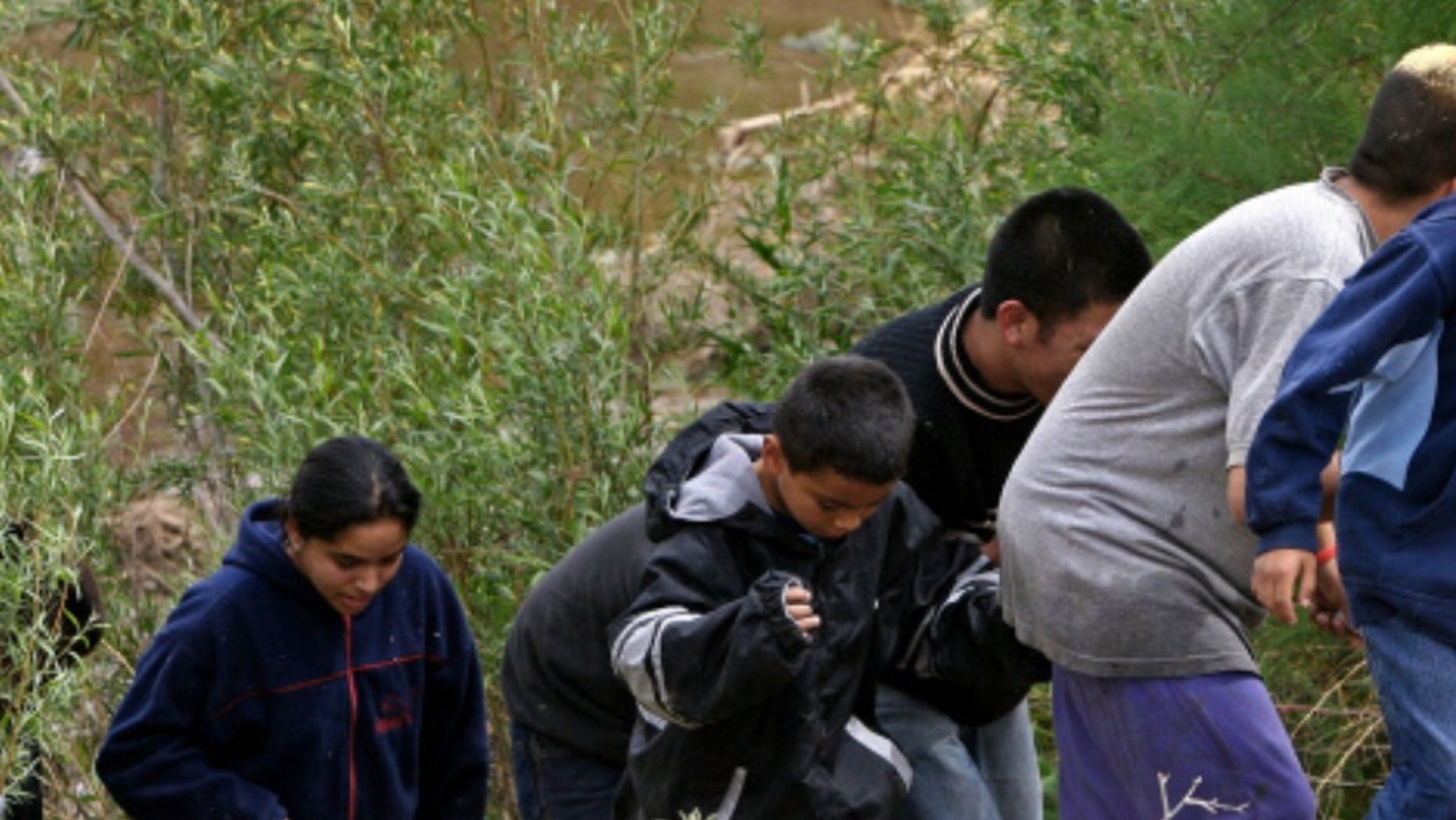 illegal immigrant children Getty Images/Omar Torres